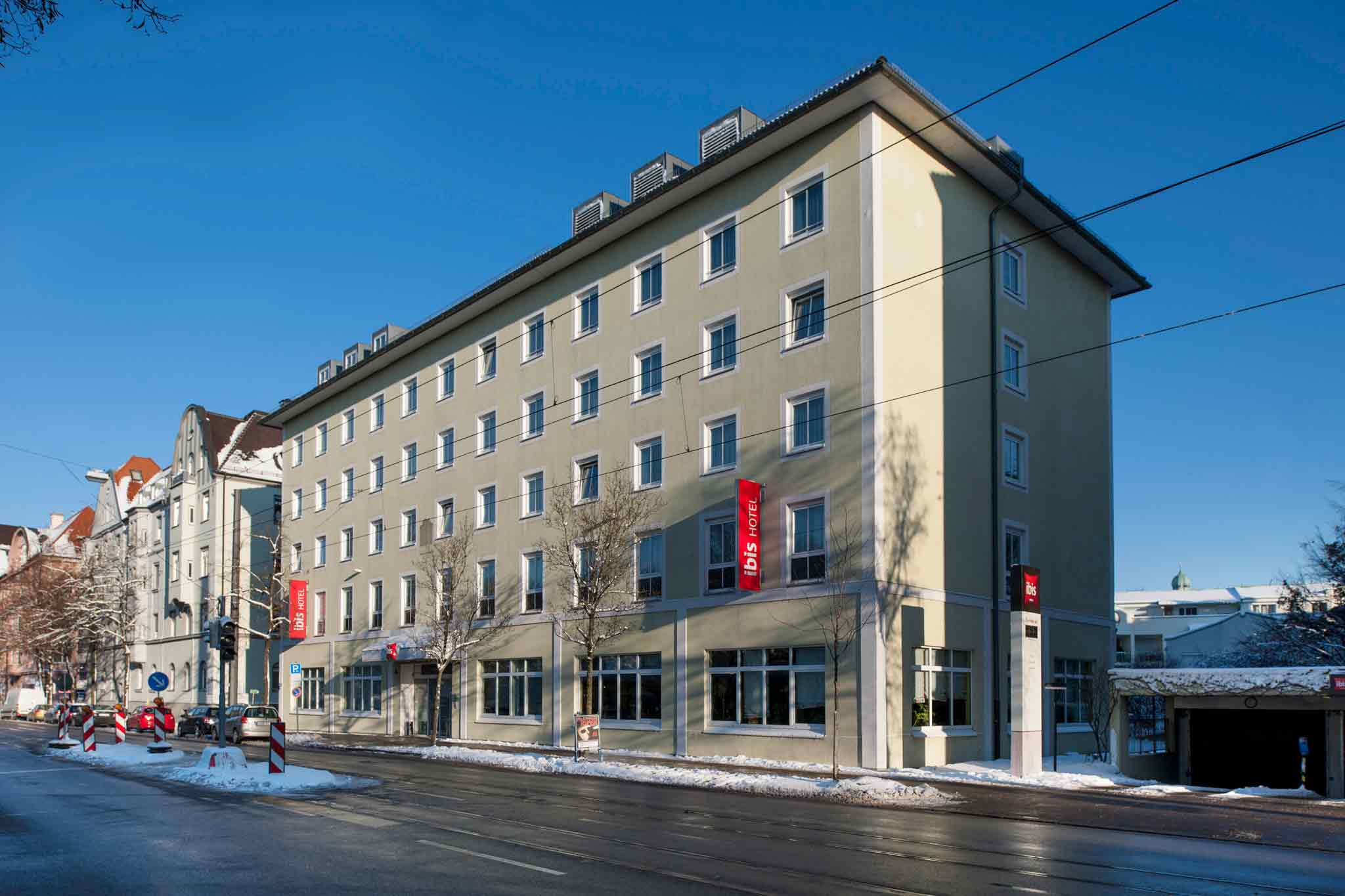 Отель — ibis Аугсбург Кёнигсплац