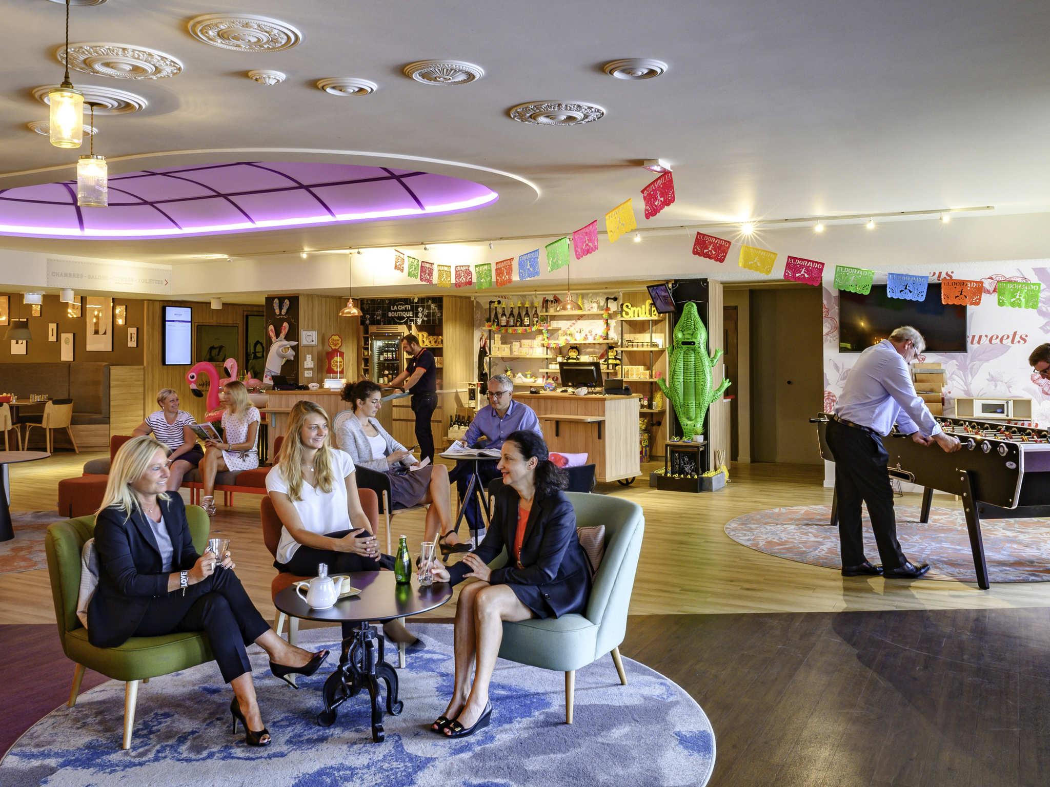 酒店 – 里尔机场美居酒店