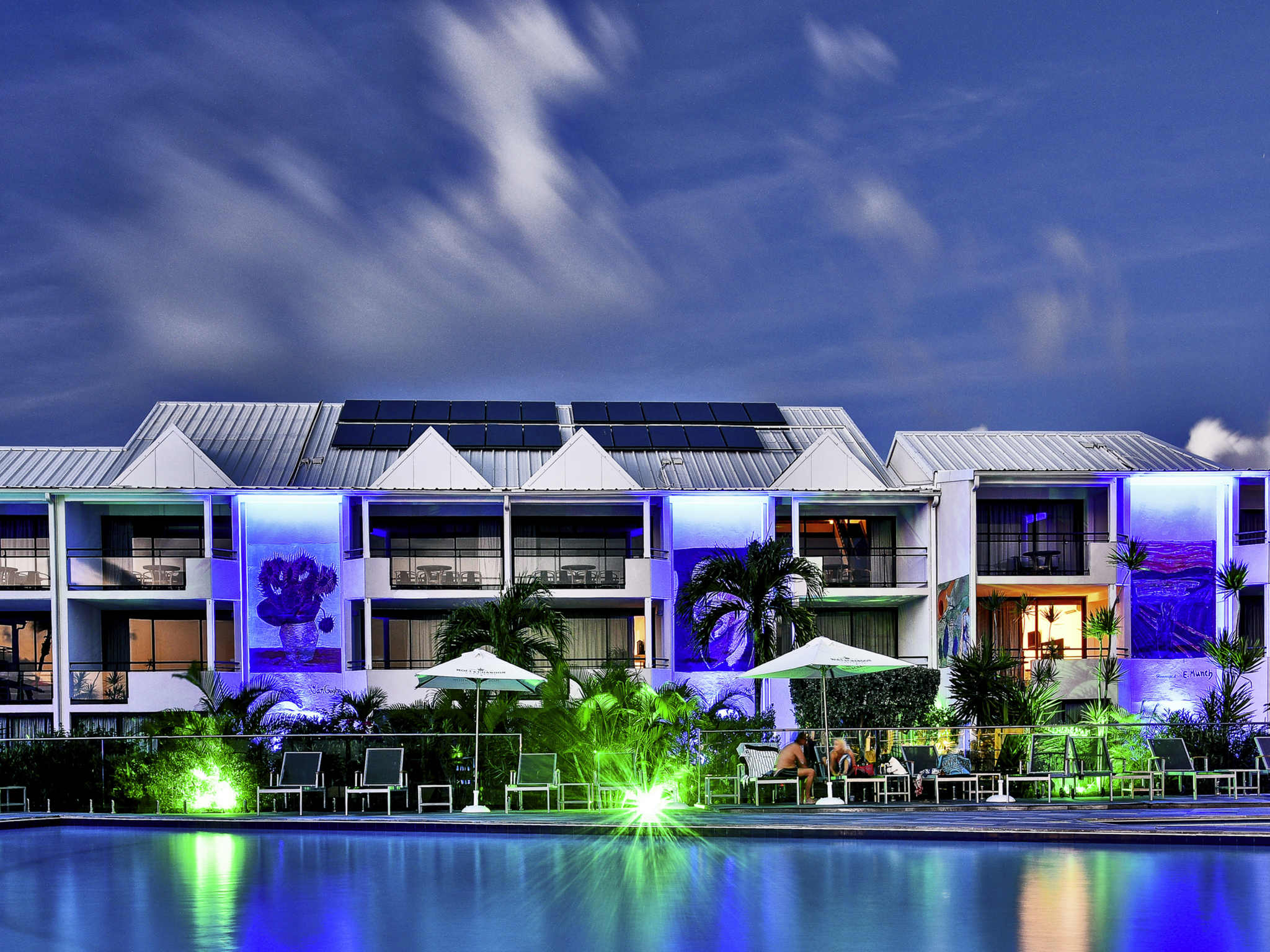 酒店 – 圣马丁岛码头及水疗美居酒店