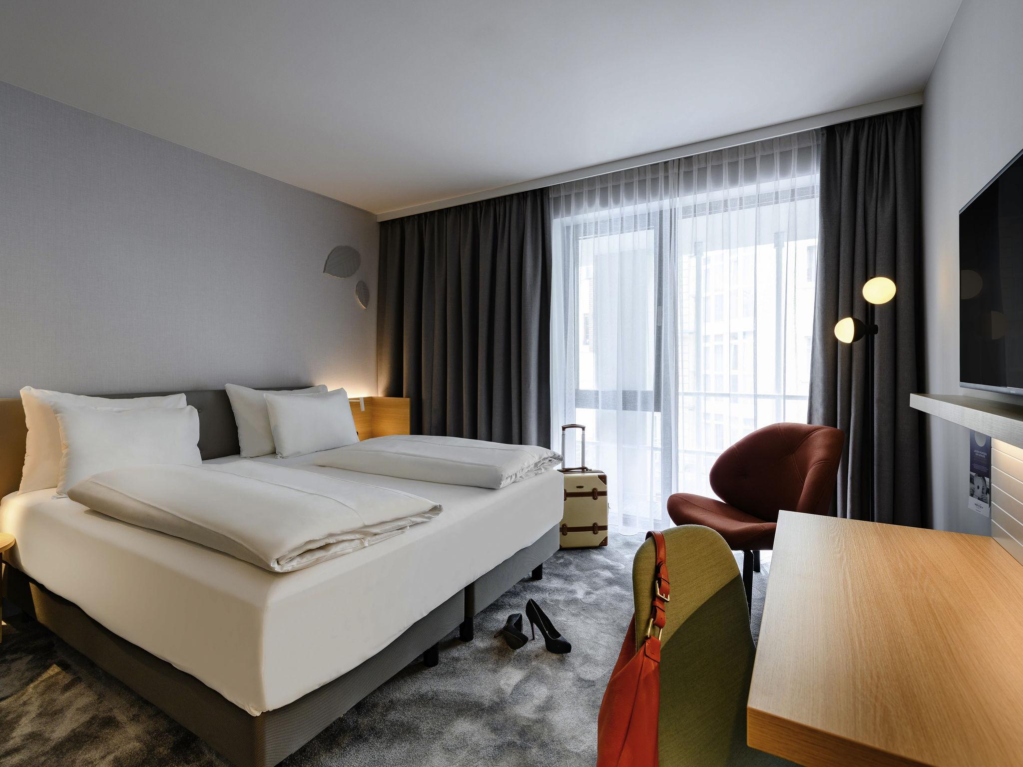 โรงแรม – โรงแรมเมอร์เคียว มิวนิก ชวาบิง