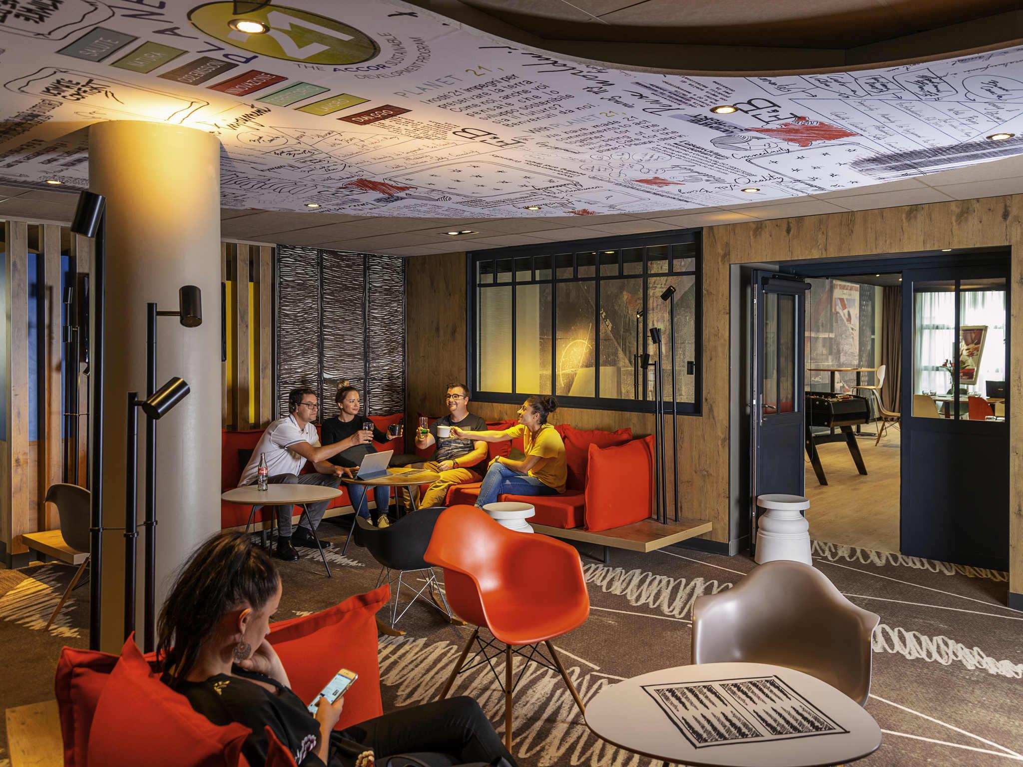 酒店 – 宜必思勒阿弗尔中心酒店