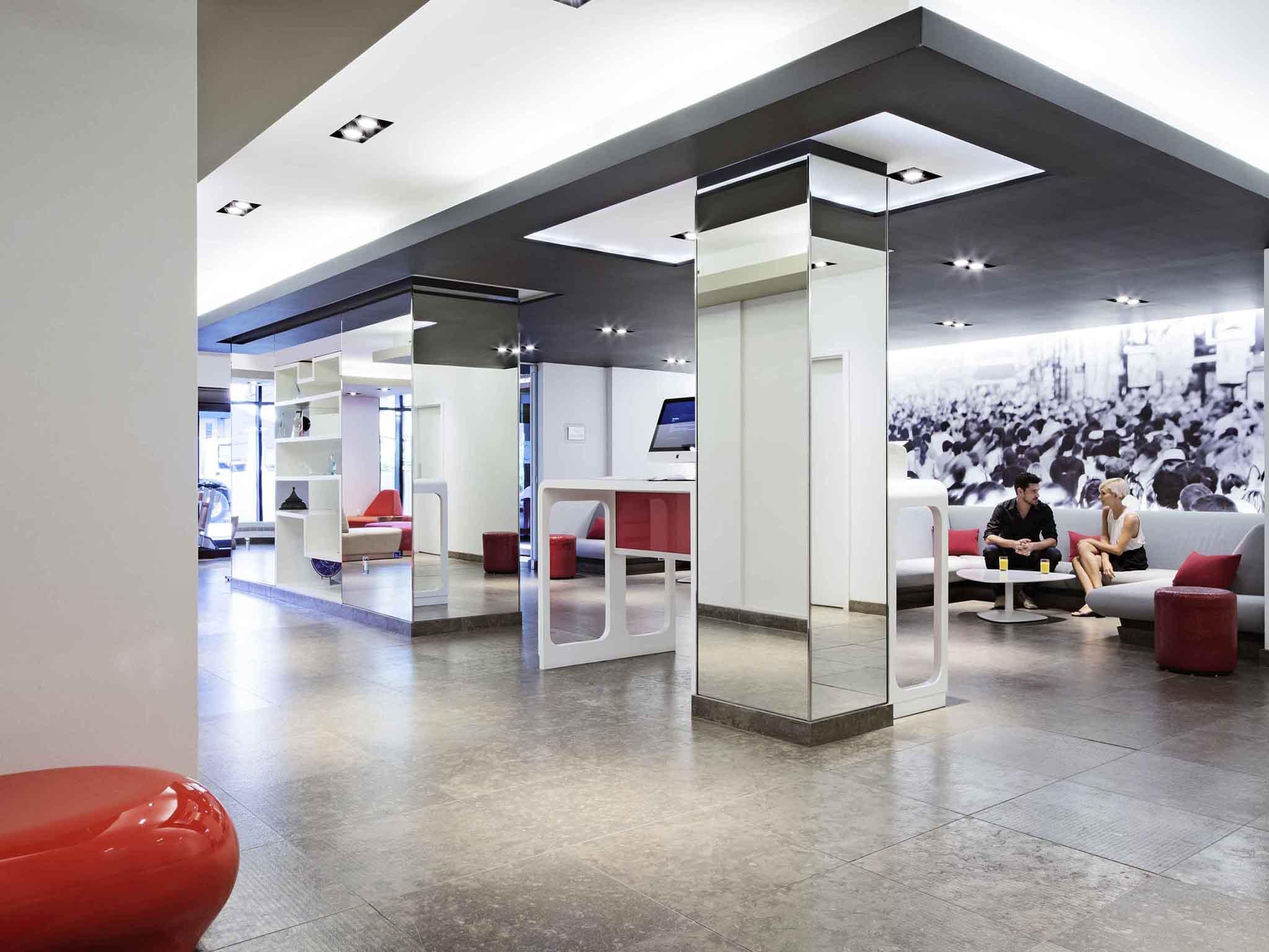 Отель — Novotel Монреаль Центр