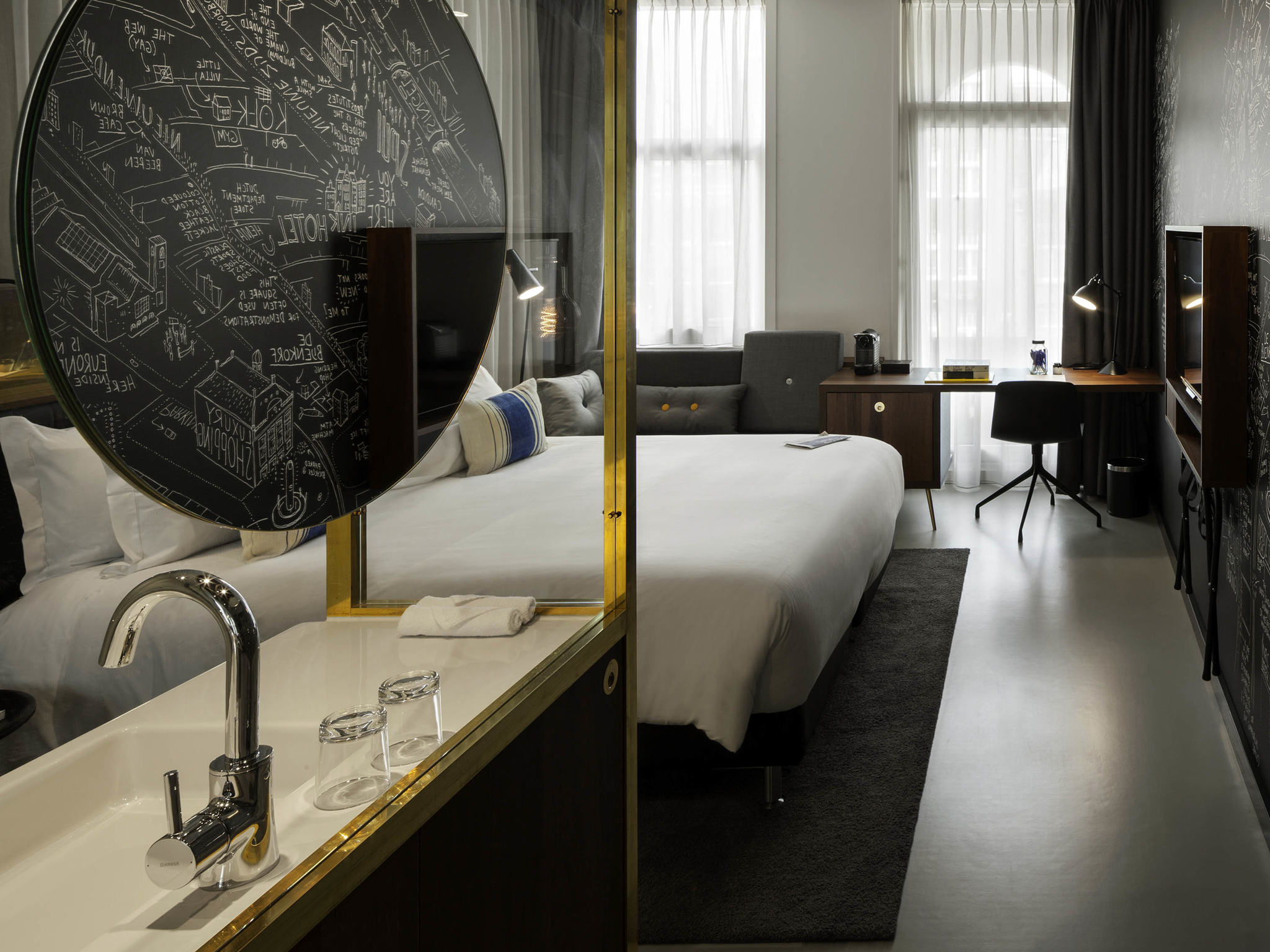 Hotel in amsterdam ink hotel amsterdam mgallery by sofitel for Designhotel holland