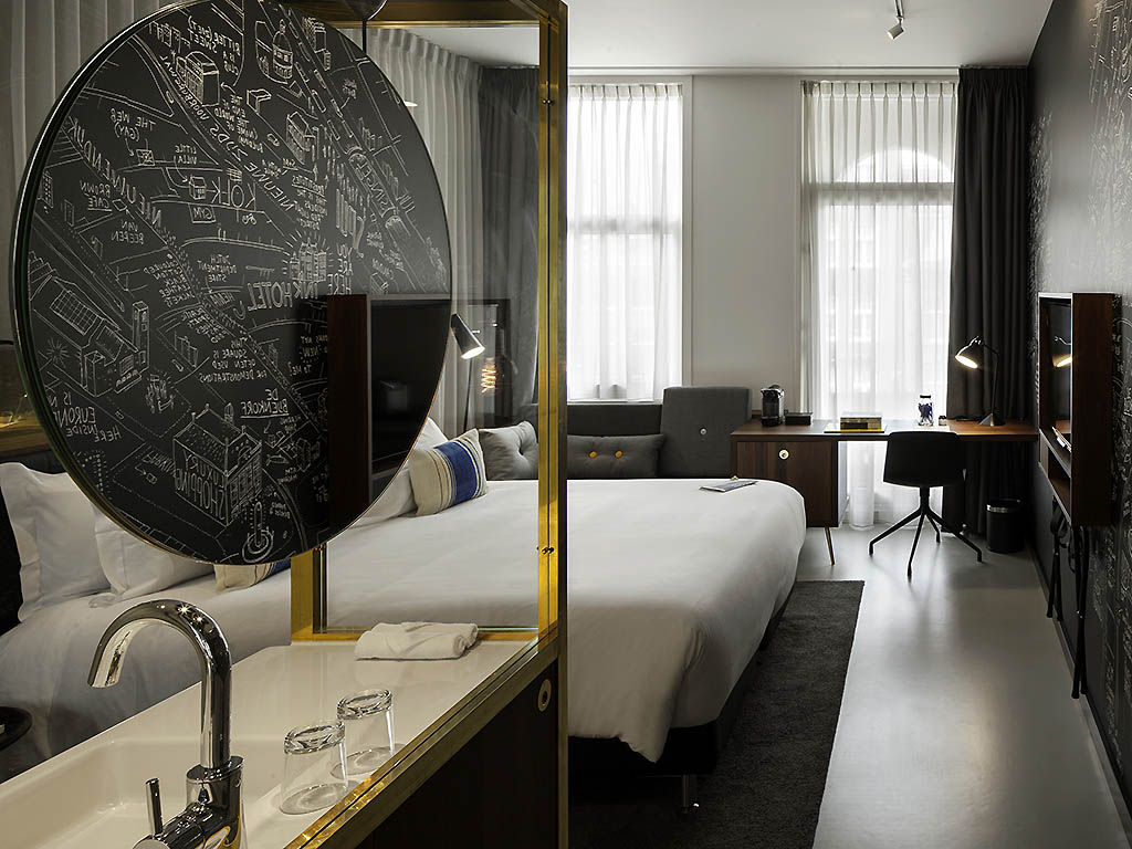 luxury hotel amsterdam ink hotel amsterdam mgallery by sofitel. Black Bedroom Furniture Sets. Home Design Ideas