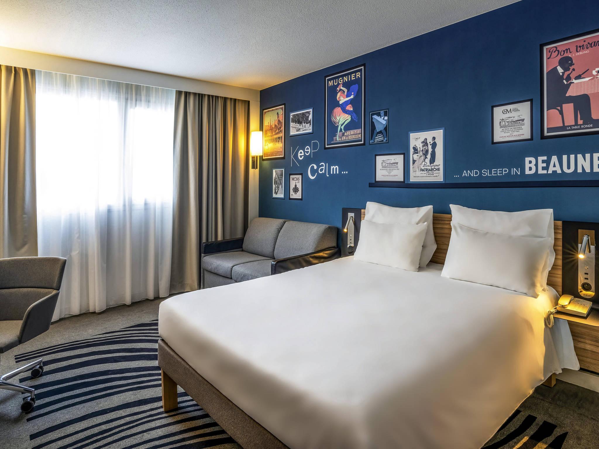 โรงแรม – Novotel Beaune