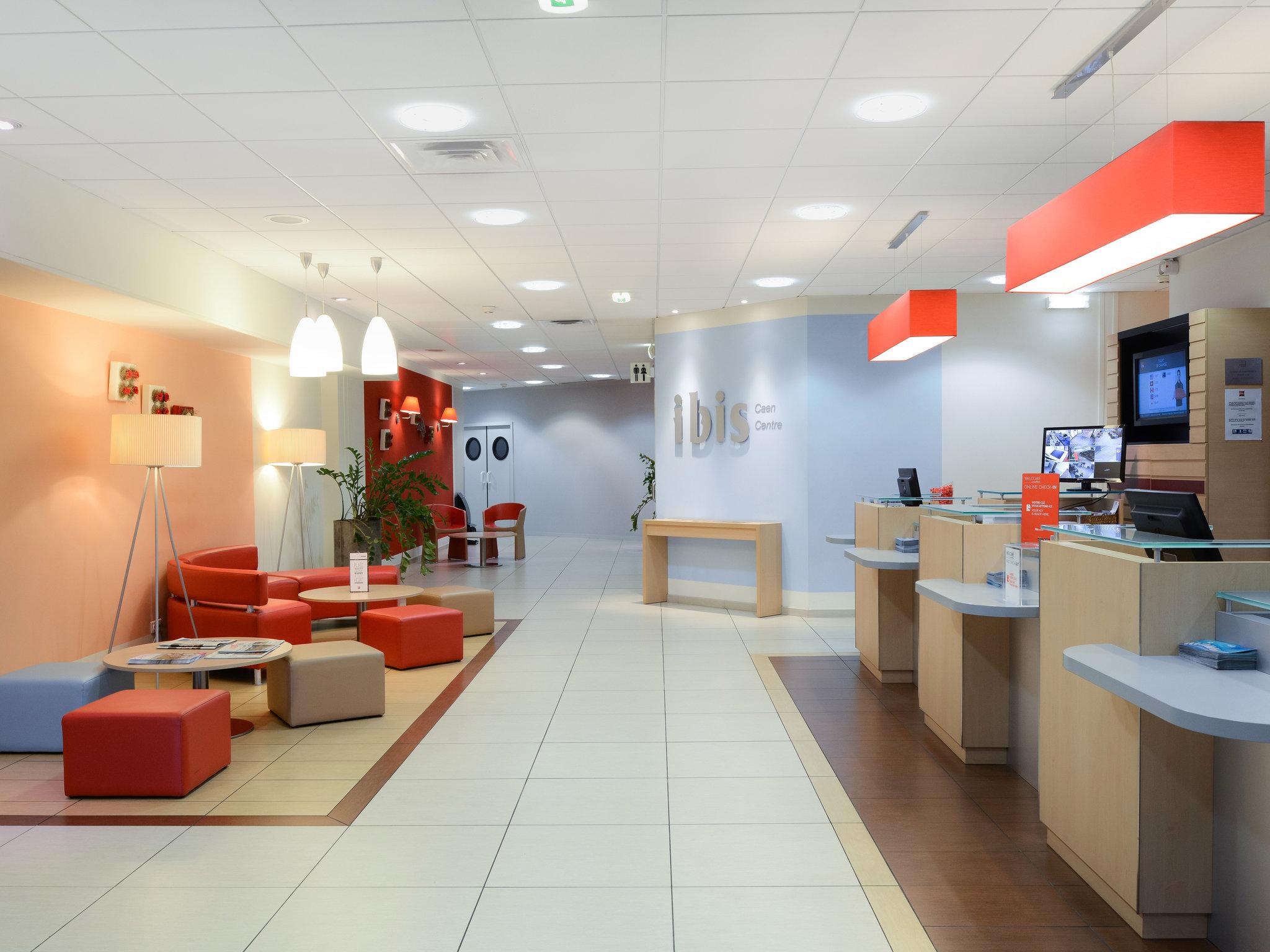 โรงแรม – ibis Caen Centre