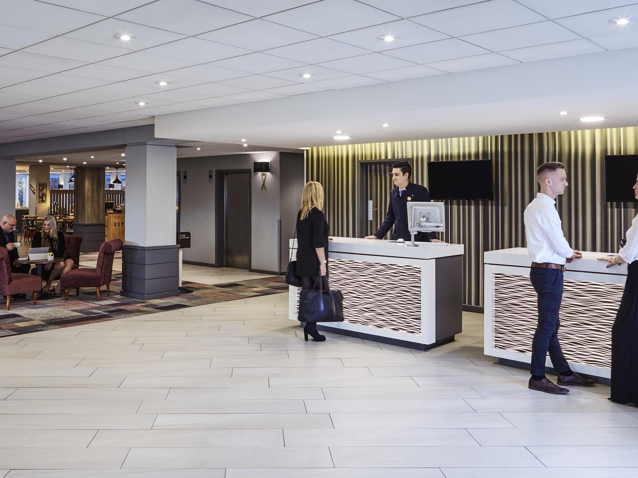 Отель — Novotel Вулверхэмптон