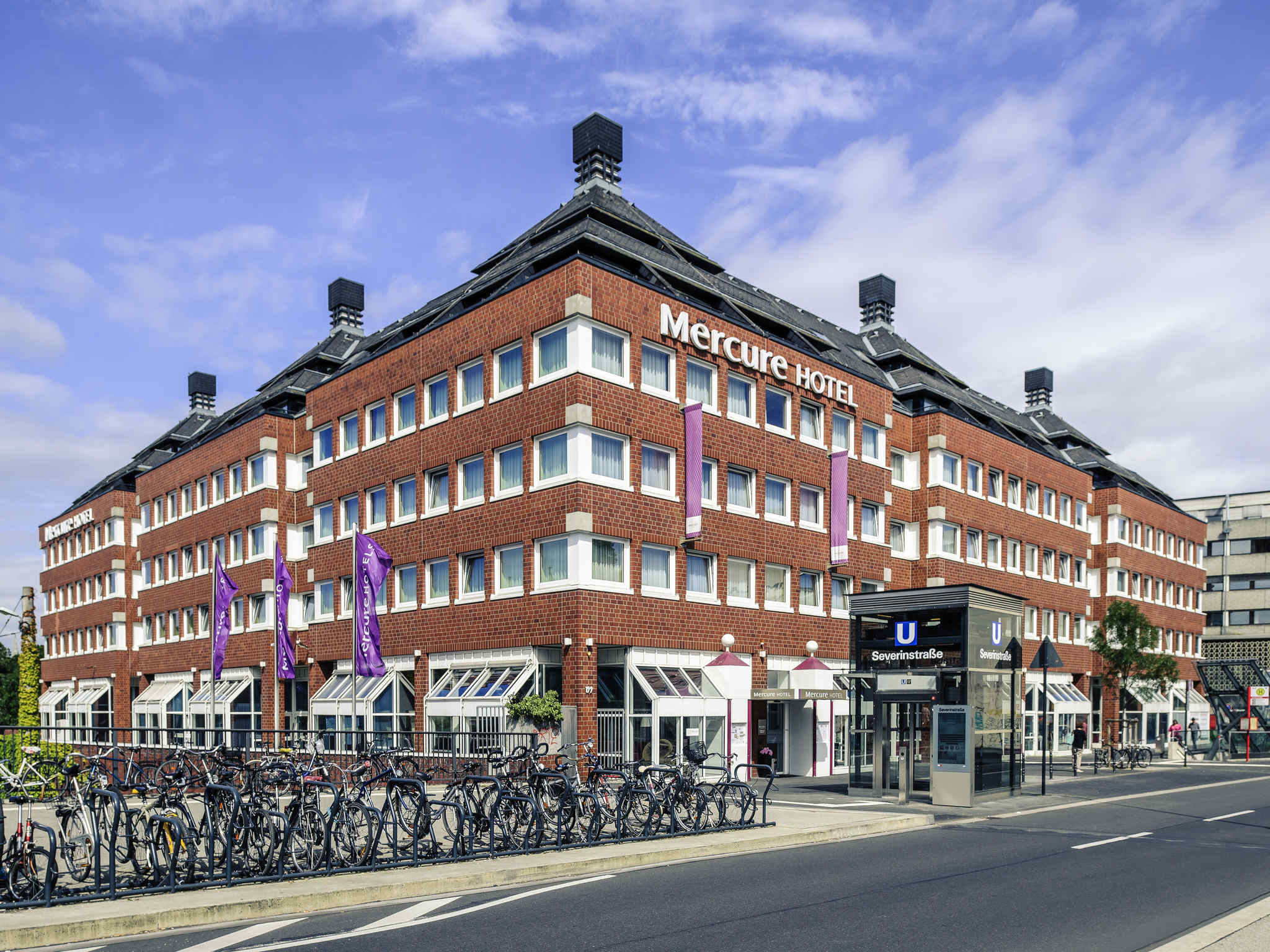 โรงแรม – Mercure Hotel Severinshof Koeln City