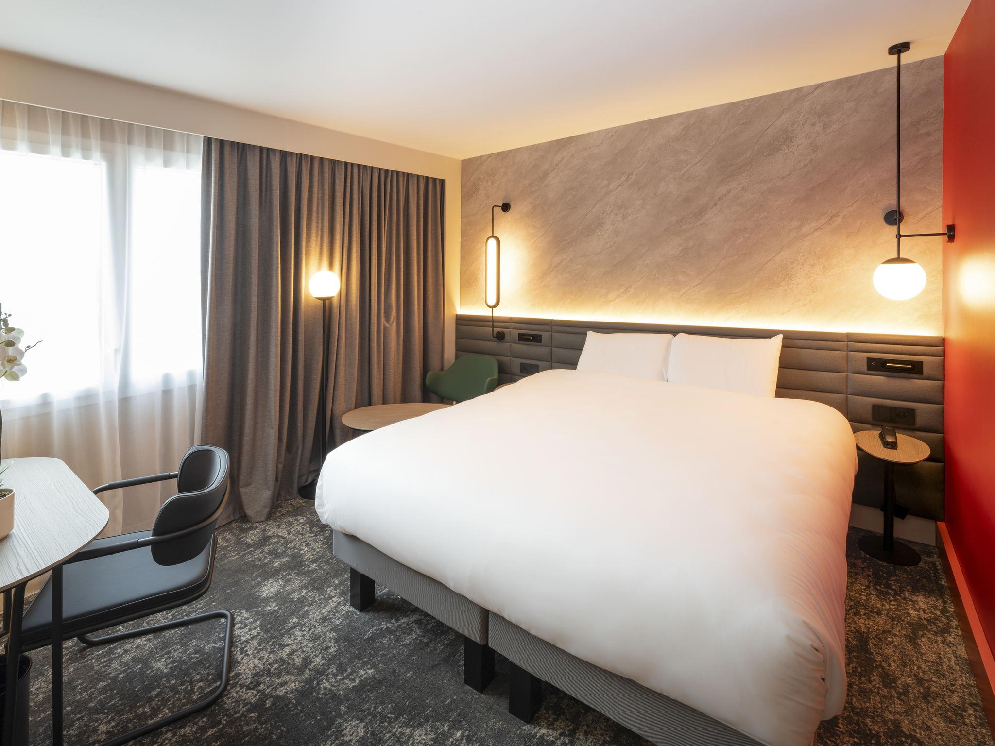 酒店 – 昂热曼恩湖美居酒店