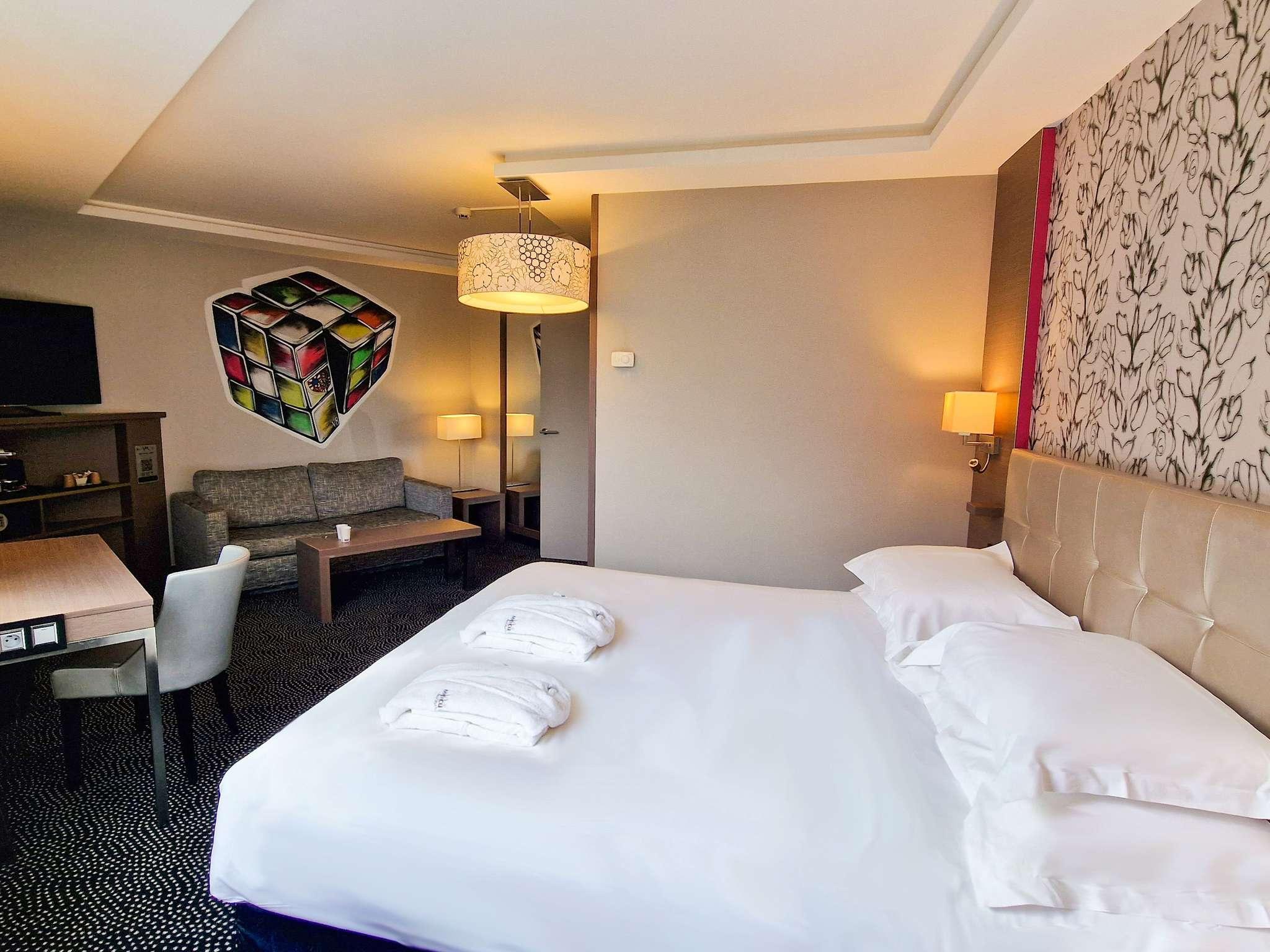 โรงแรม – Hôtel Mercure Dijon Centre Clémenceau