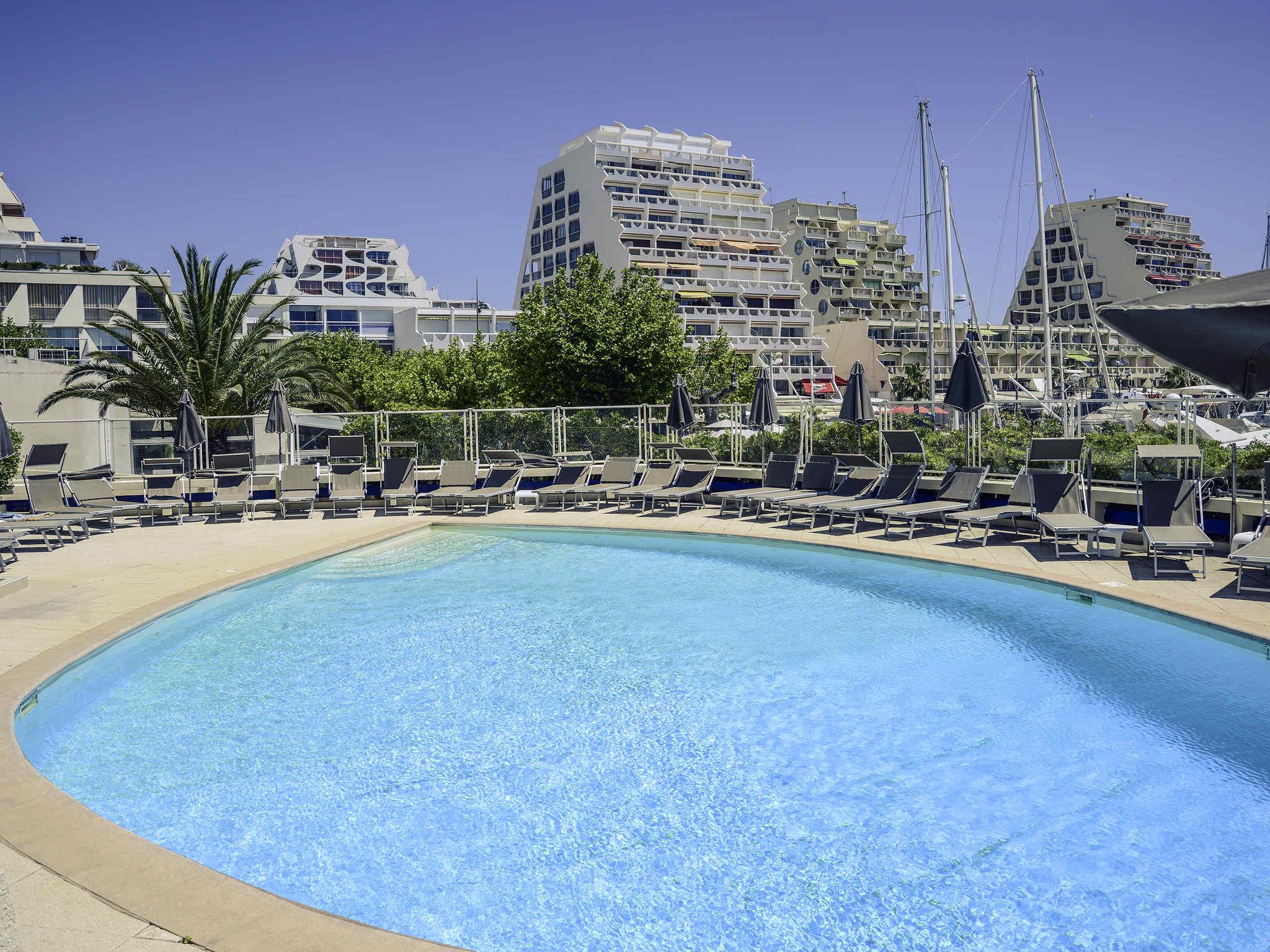 Отель — Mercure Ла Гранд Мотт Порт