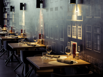 Restaurante - Mercure Hotel Amsterdam City