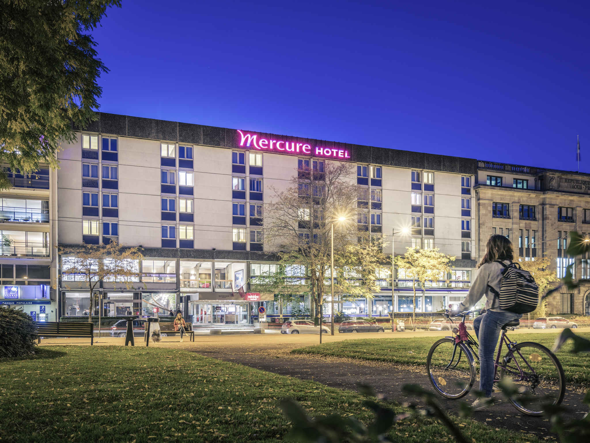 โรงแรม – Hôtel Mercure Mulhouse Centre