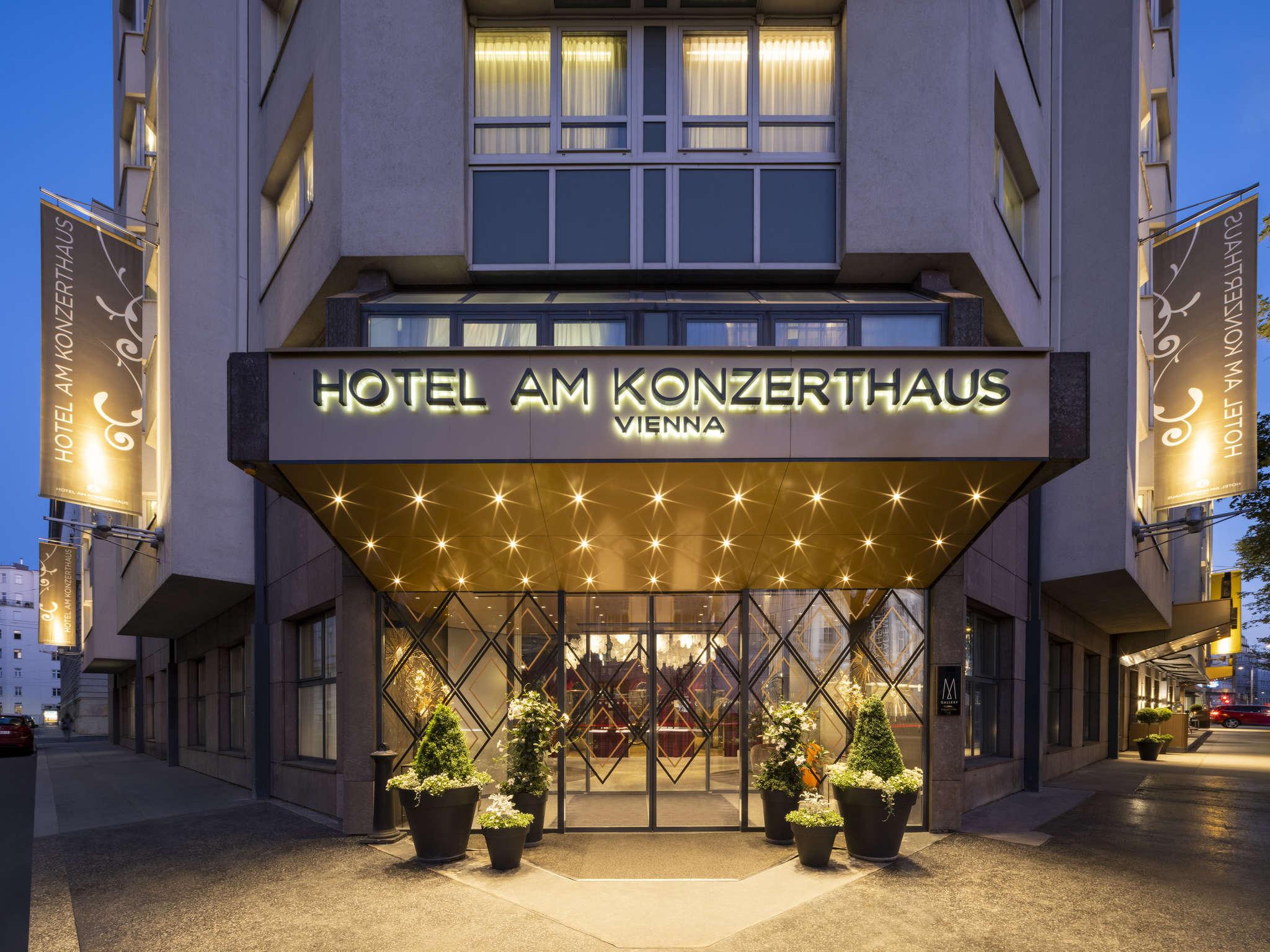 Otel – Hotel Am Konzerthaus Vienna - MGallery by Sofitel