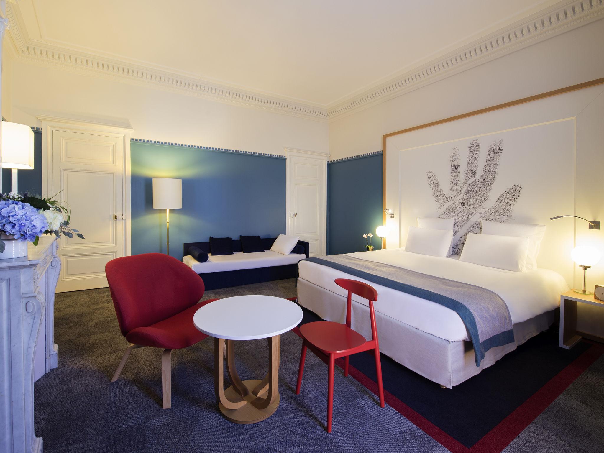 酒店 – 里昂中心佩拉什城堡美居酒店