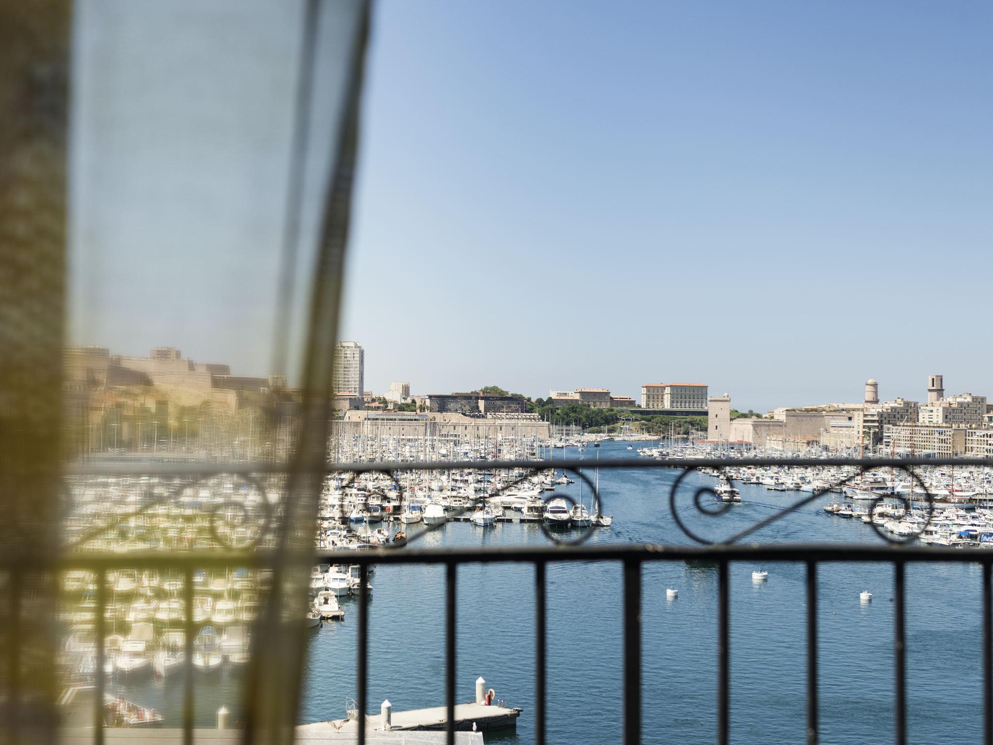 H tel marseille grand h tel beauvau marseille vieux - Grand hotel beauvau marseille vieux port ...