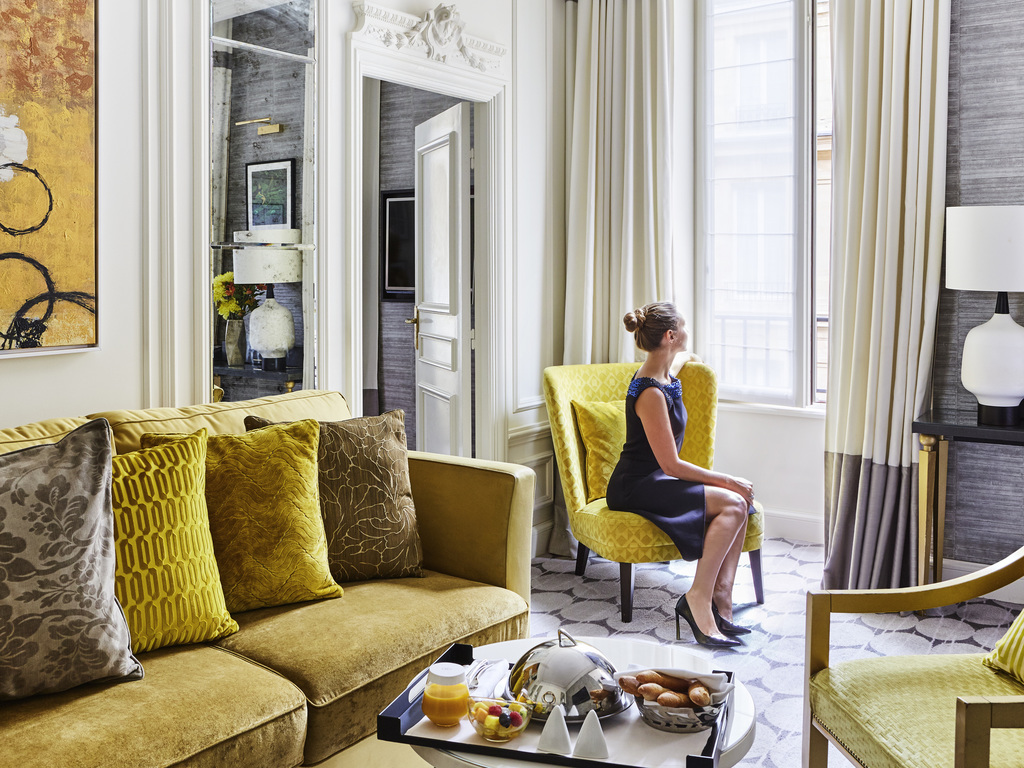 FAUBOURG SUITE   Haute Couture Spirit   DidierGomez Design   Two Bedrooms,  Separate Lounge.