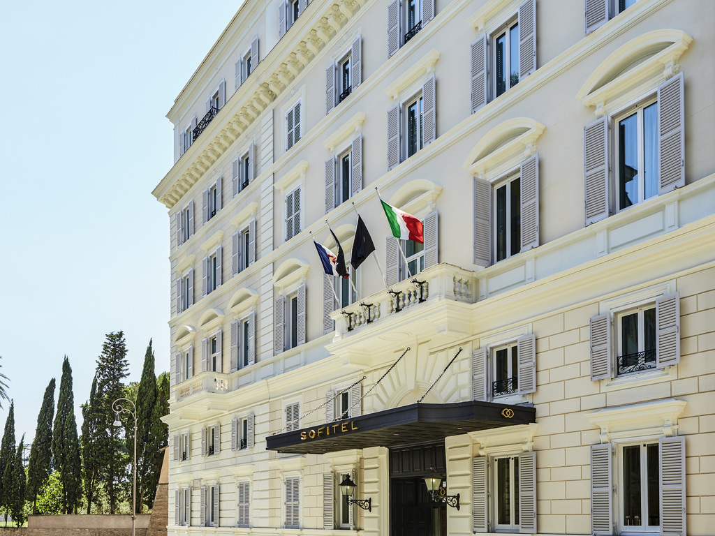 Sofitel Roma (reopens renovated in Summer)