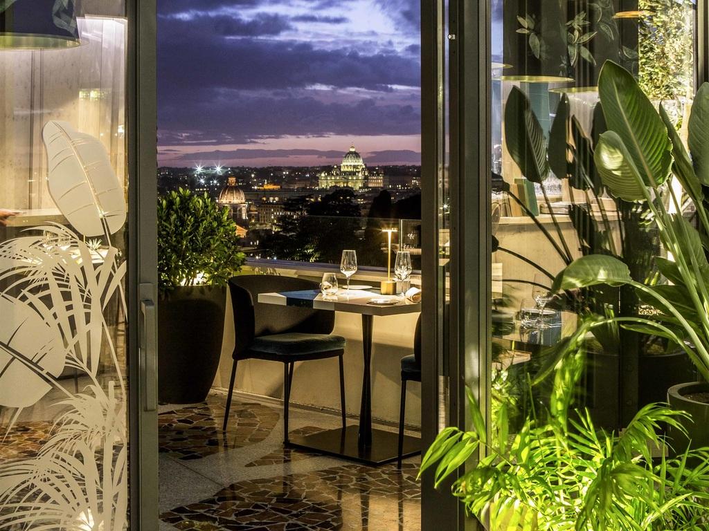 Sofitel Rome Villa Borghese Restaurant Menu