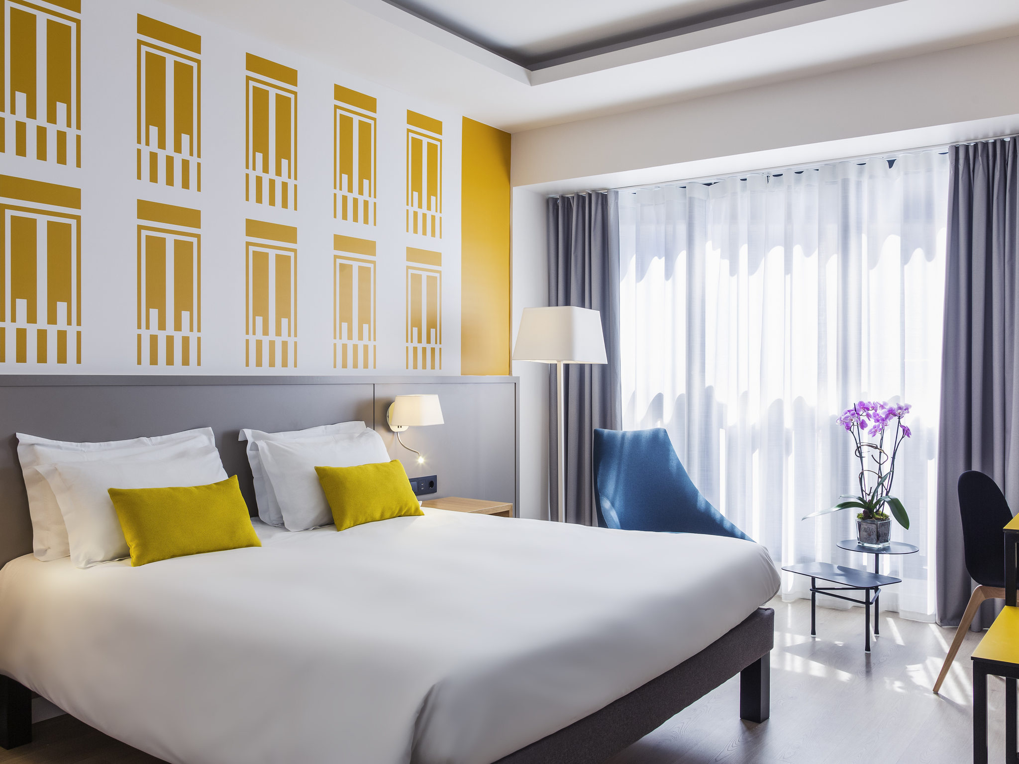 โรงแรม – Mercure Madrid Plaza de Espana