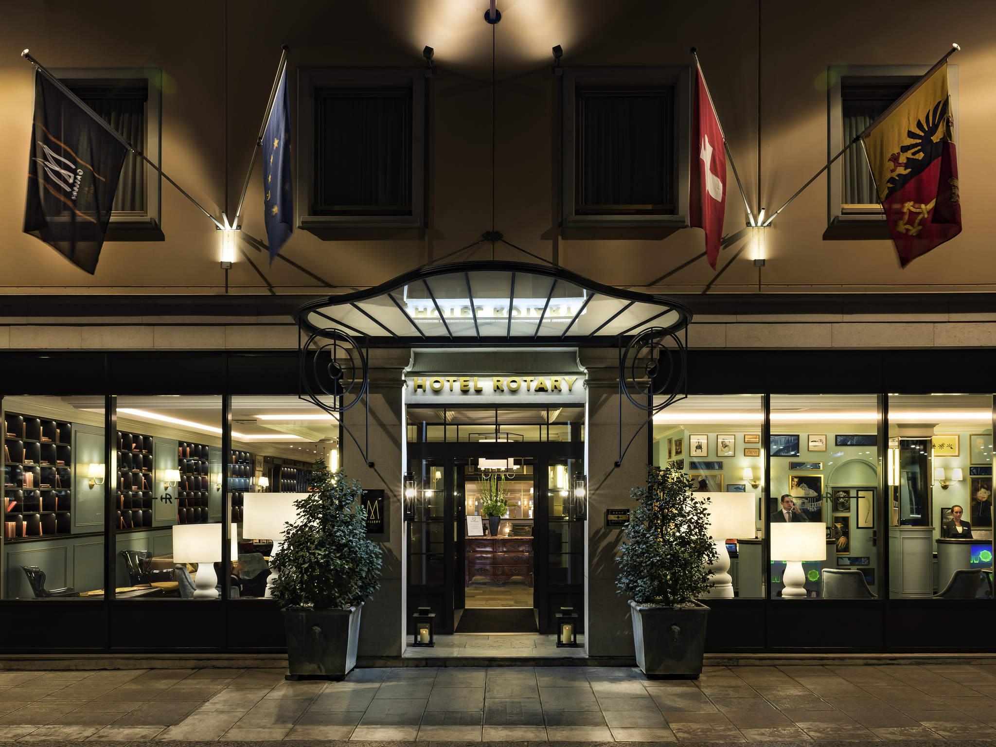Отель — Отель Ротари Женева - MGallery by Sofitel