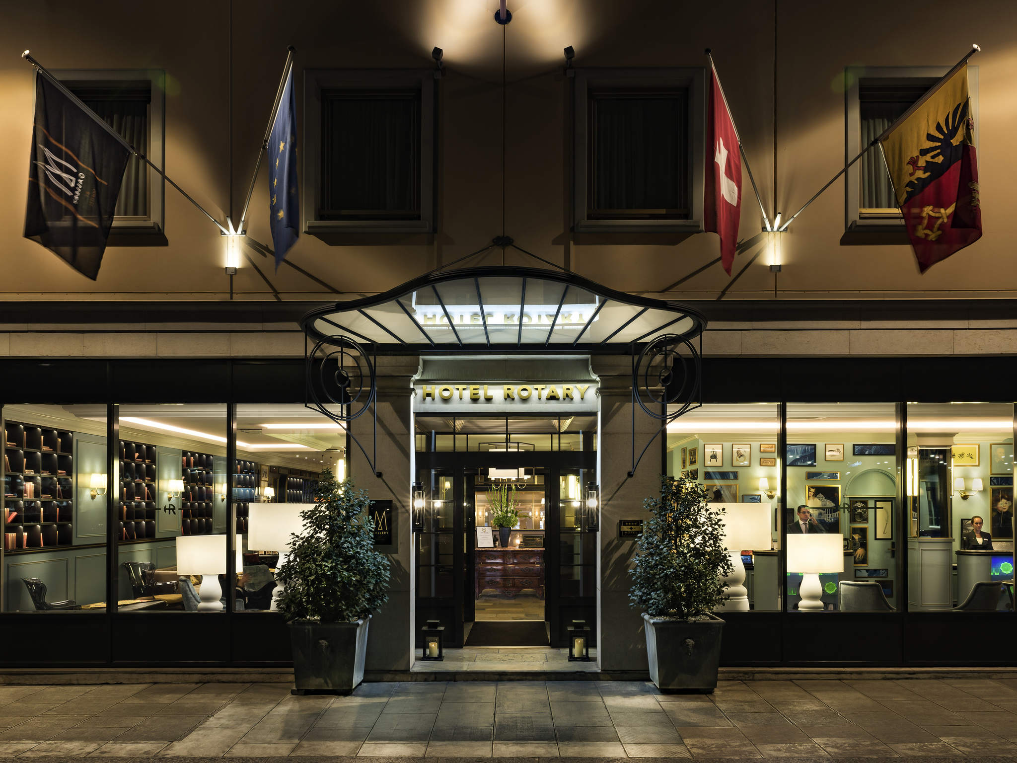 ホテル – ホテル ロータリー ジュネーブ Mギャラリー by ソフィテル
