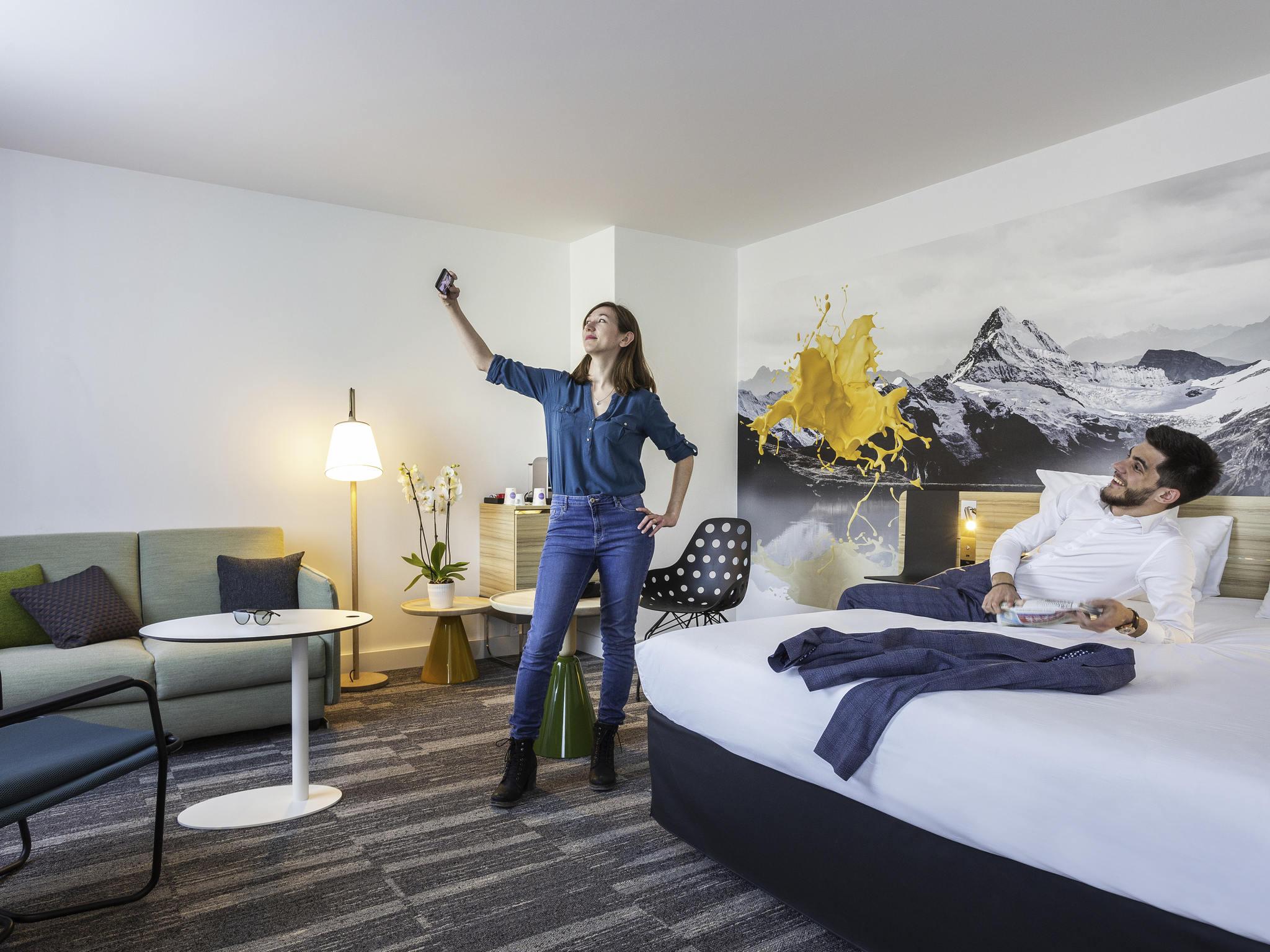 ホテル – ノボテルアヌシーサントルアトリア