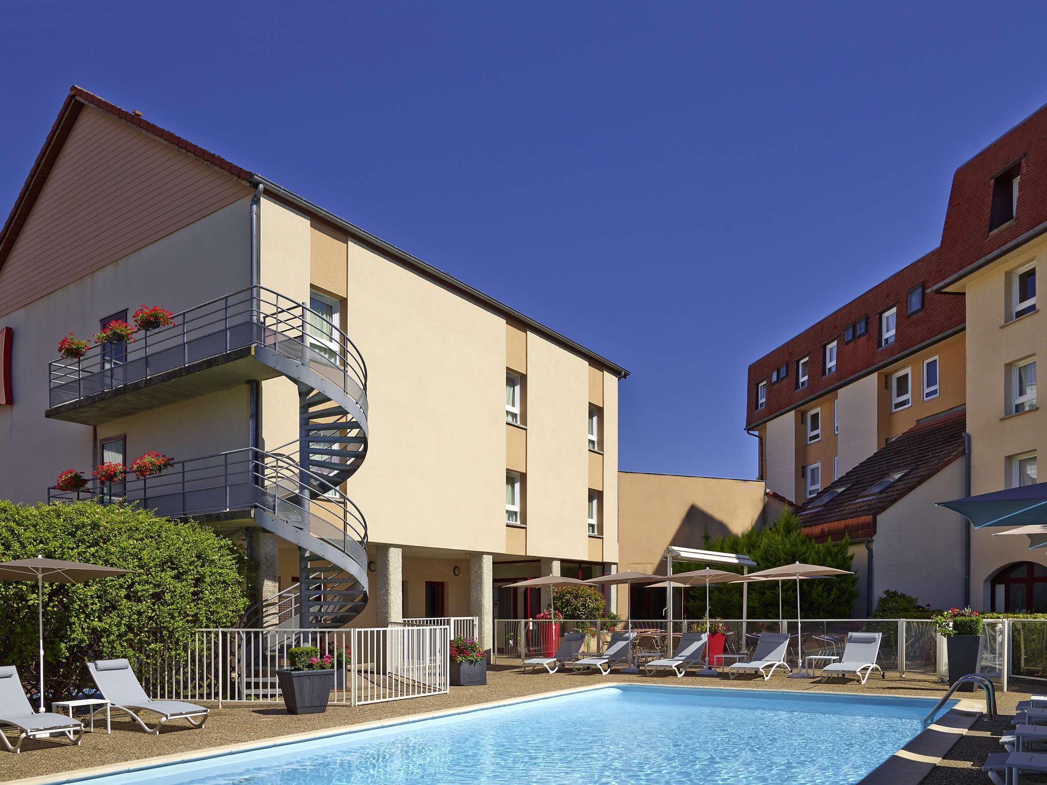 Hotell – ibis Beaune Centre