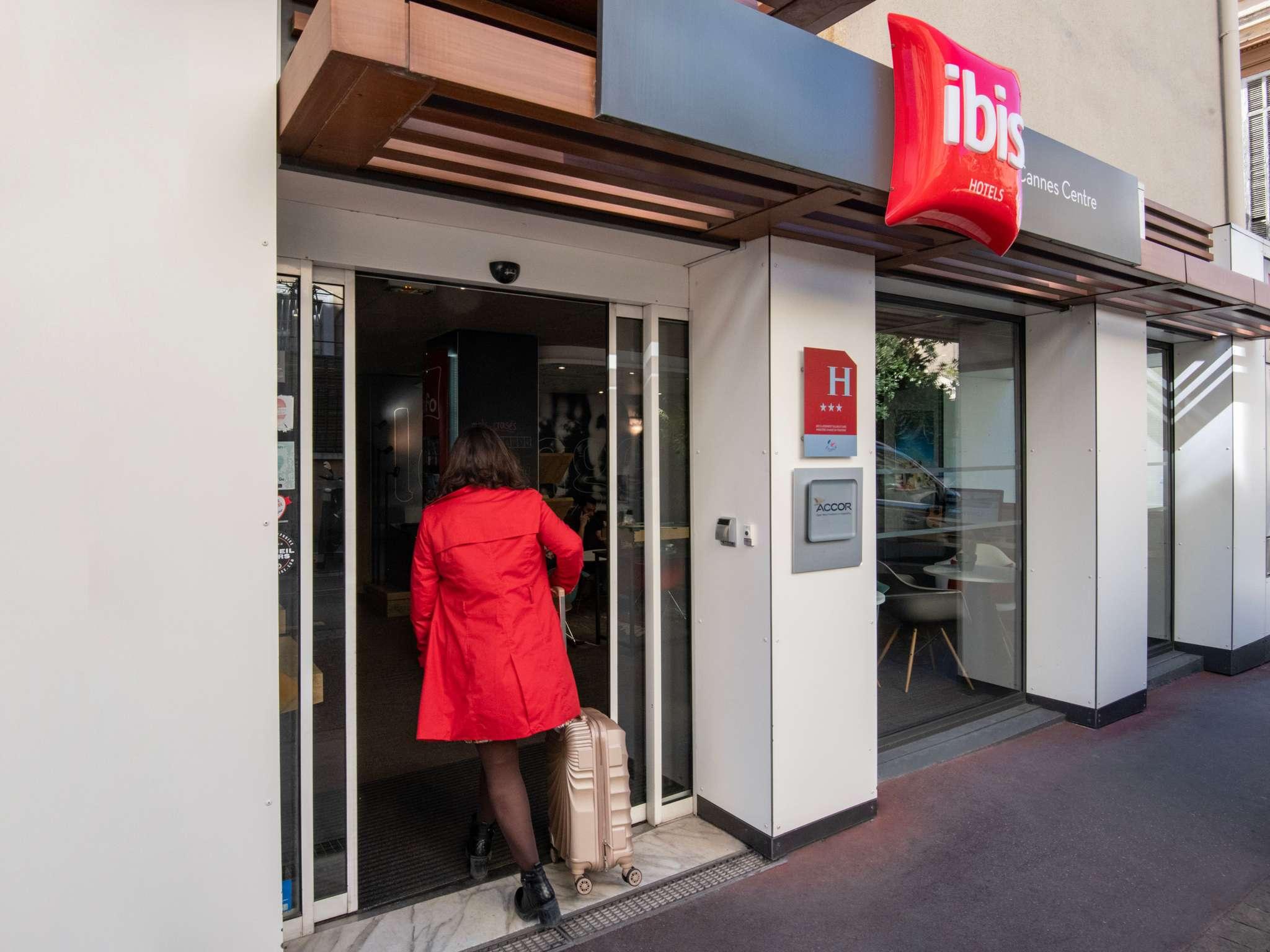 โรงแรม – ibis Cannes Centre