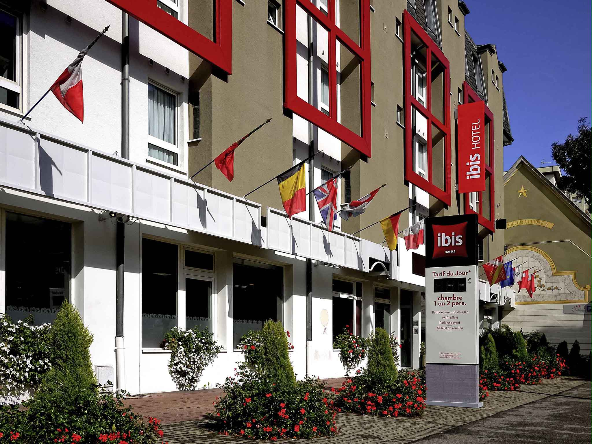 Hotell – ibis Mulhouse Ville Gare Centrale