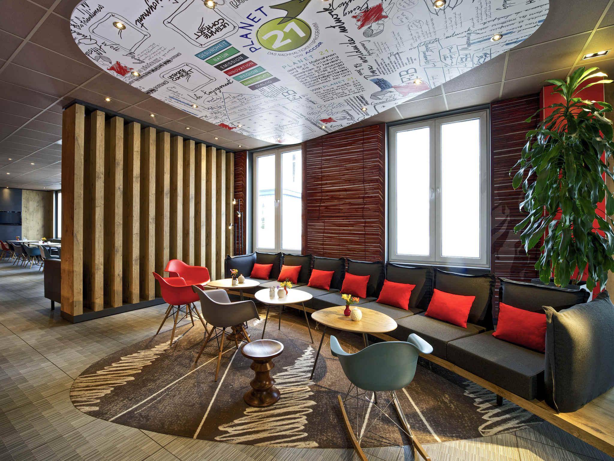 Hotell – ibis Hamburg Alster Centrum