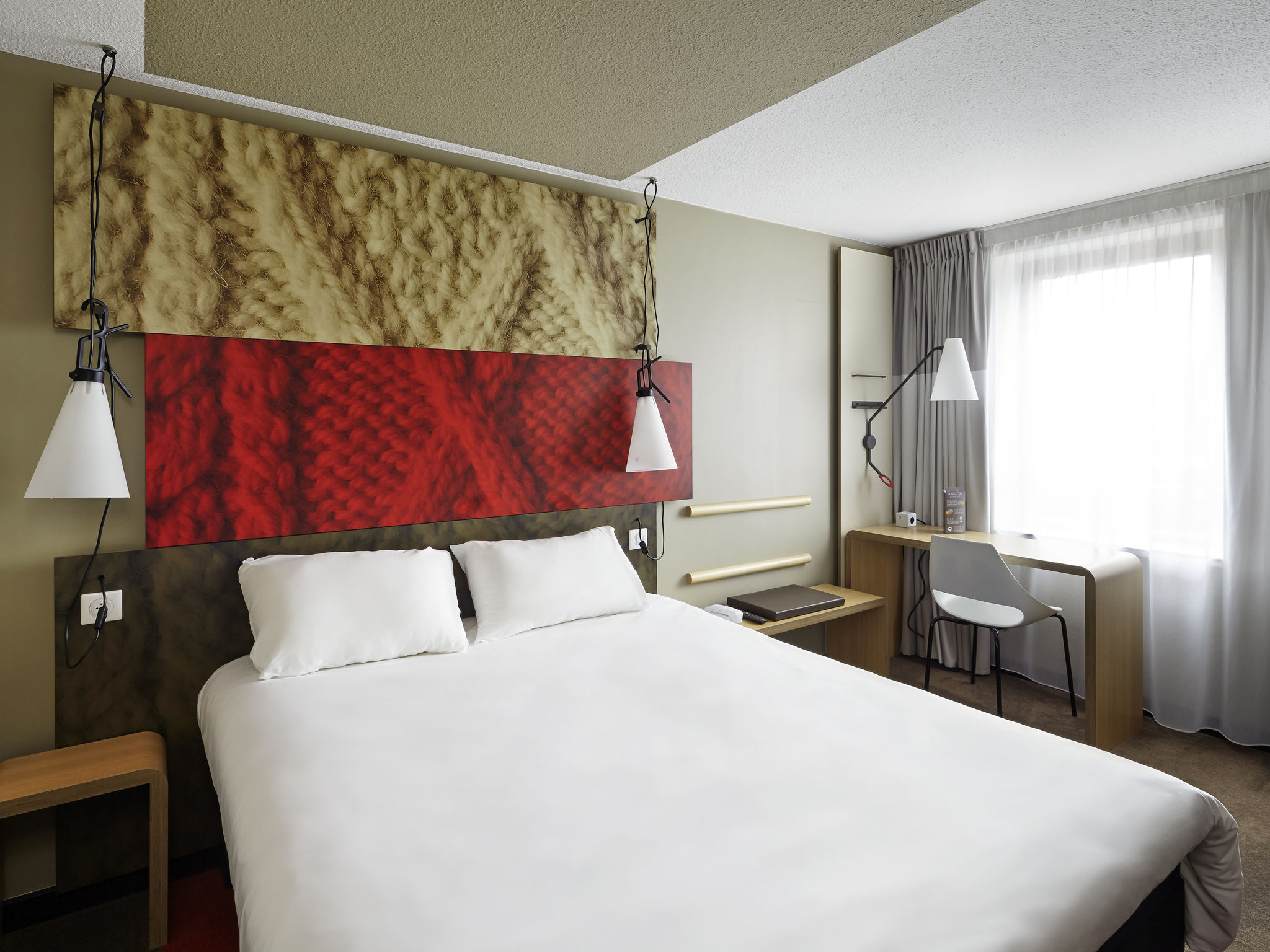 Hotell – ibis Marne-la-Vallée Champs