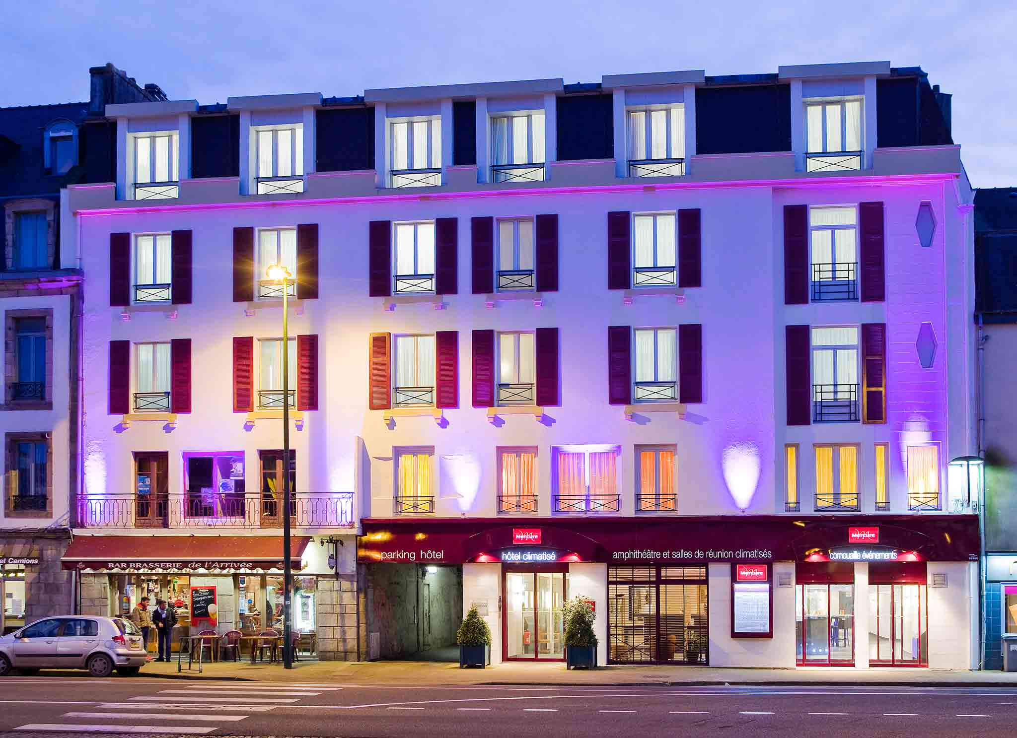 โรงแรม – Hôtel Mercure Quimper Centre