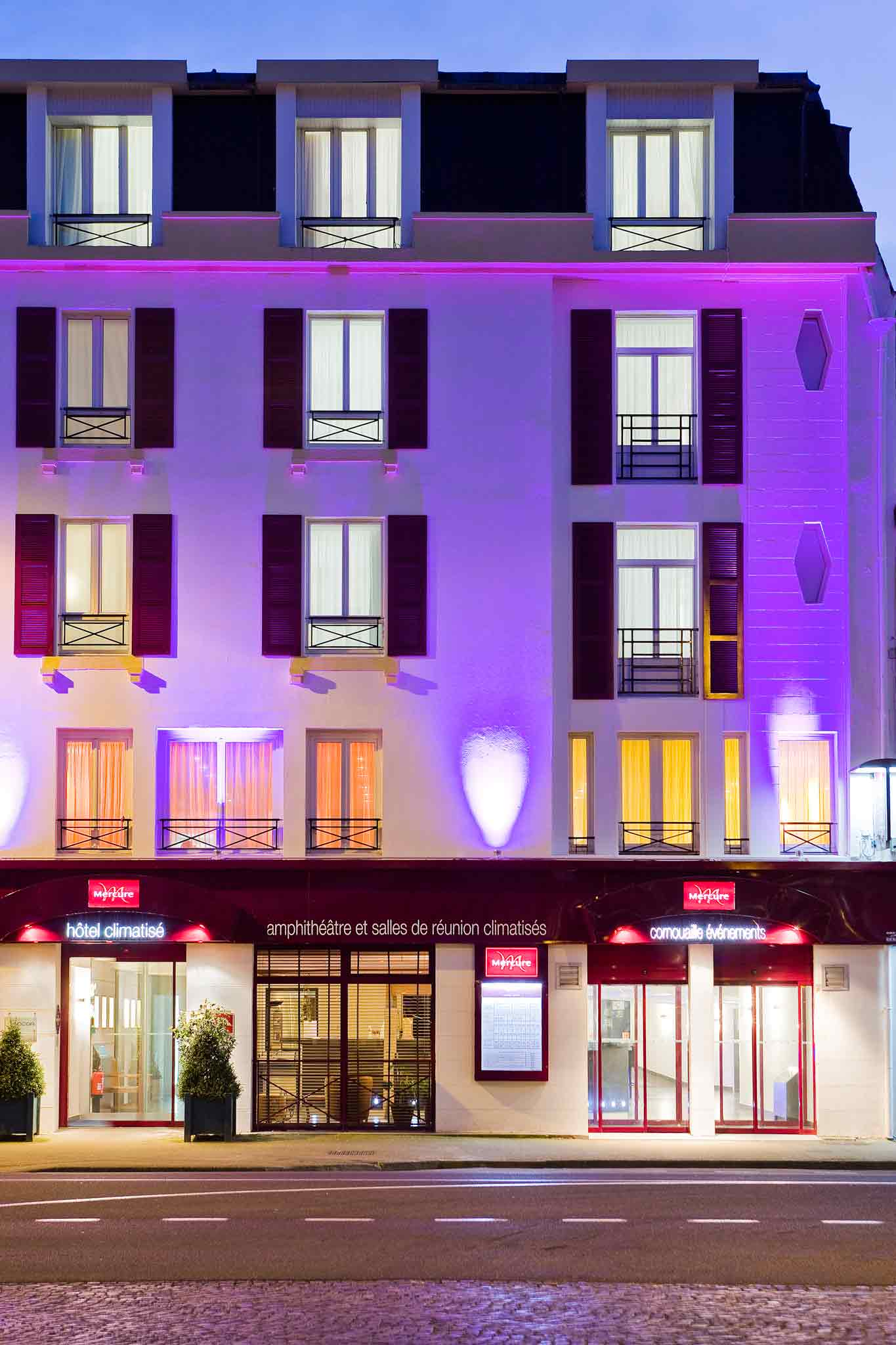 Hotel in quimper mercure quimper zentrum hotel for Hotels quimper