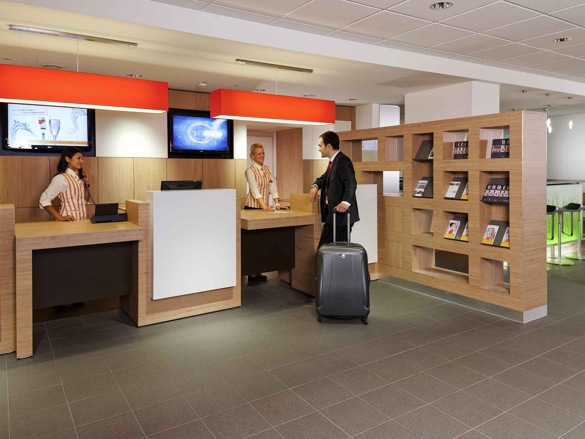 Hotel ibis Augsburg Hauptbahnhof Book online now Wifi