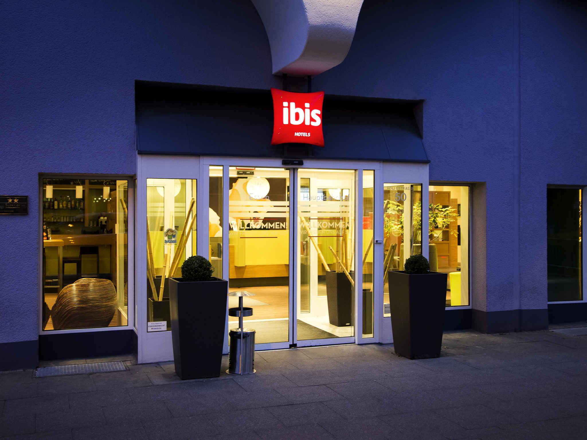 Hotell – ibis Essen Hauptbahnhof