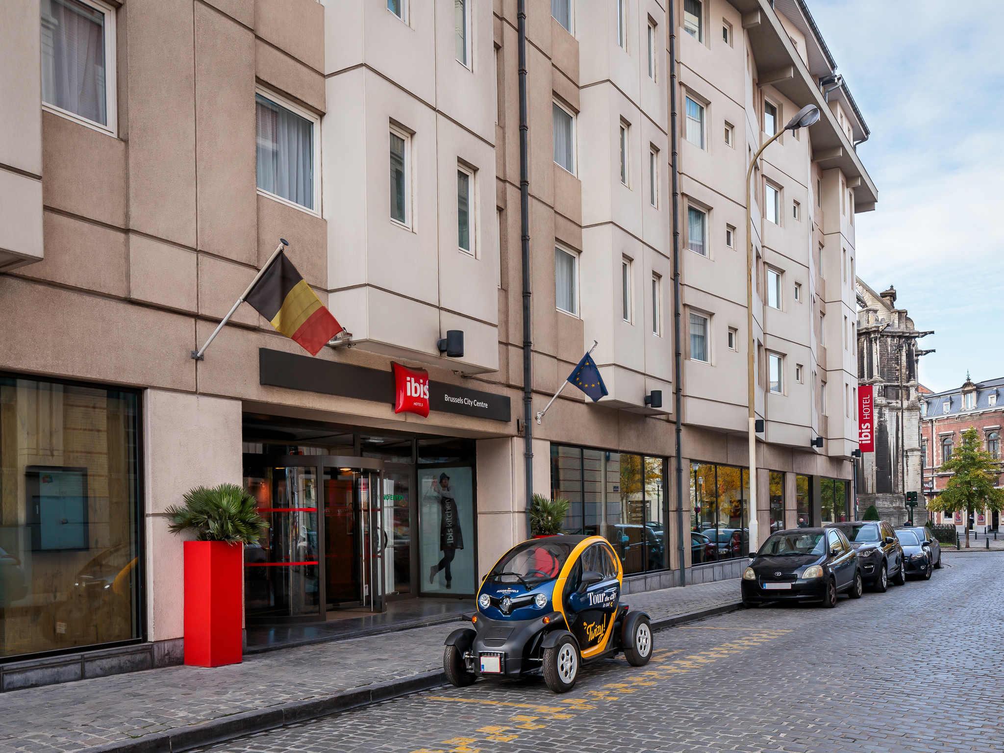 Отель — ibis Брюссель Сити Центр