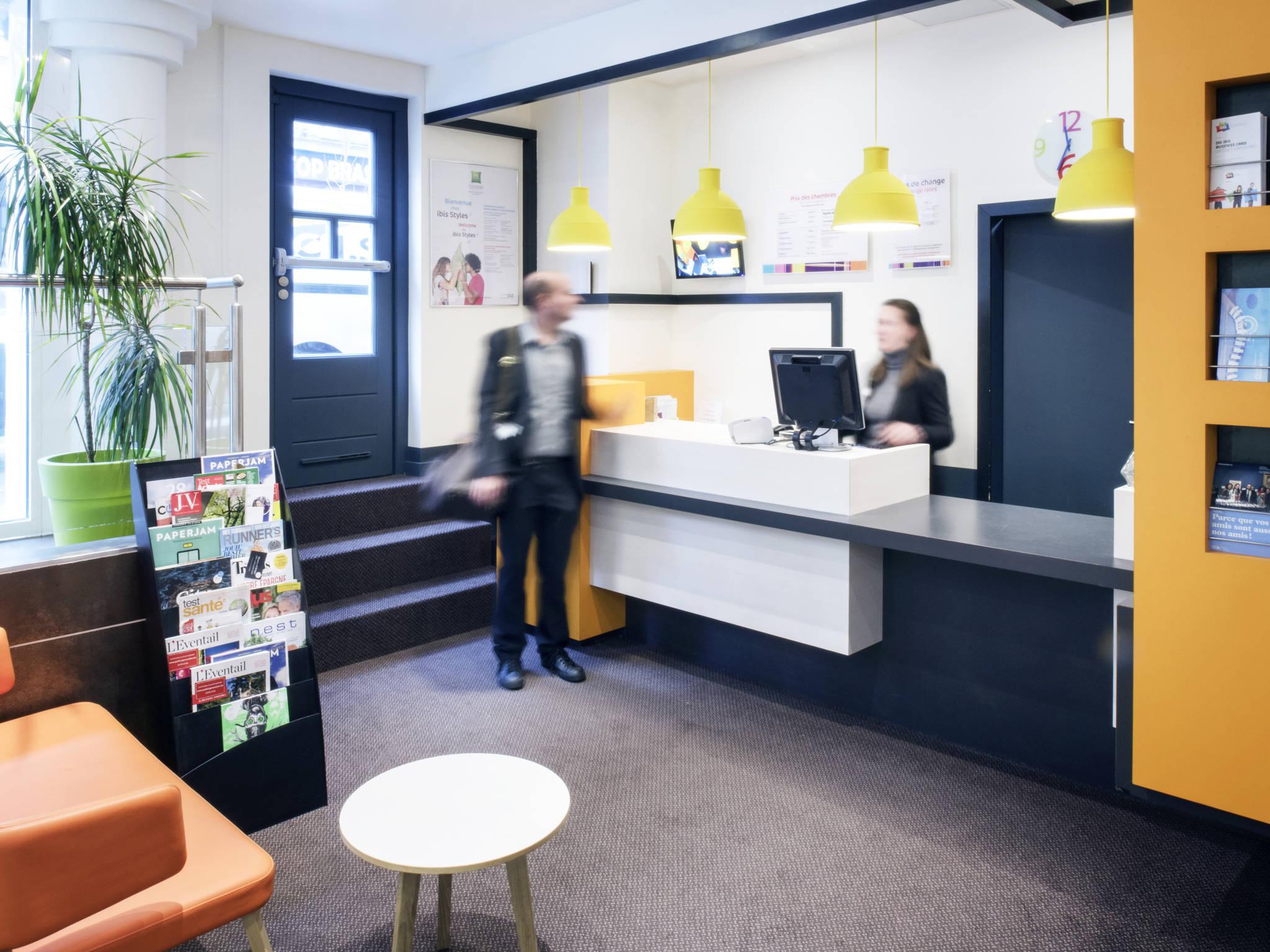 โรงแรม – ibis Styles Luxembourg Centre Gare