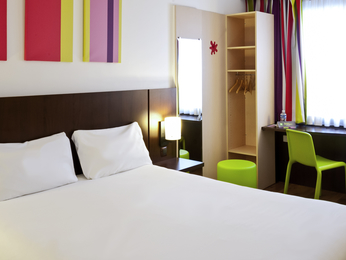 Camere - ibis Styles Luxembourg Centre Gare
