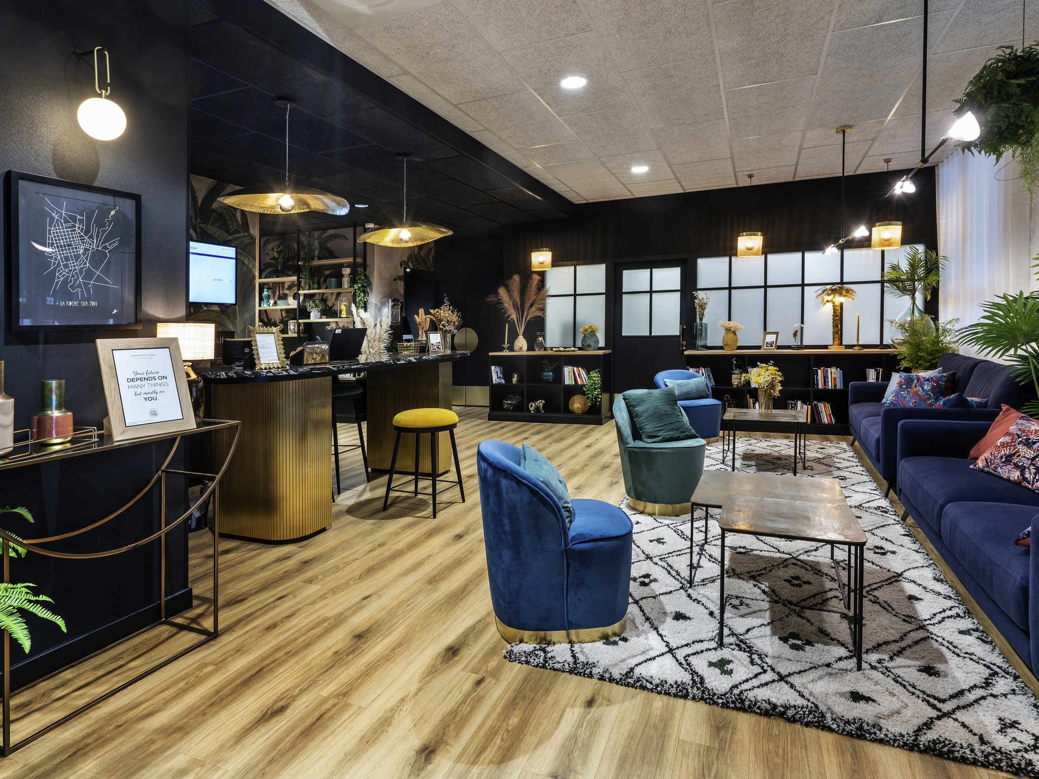 酒店 – 永河畔拉罗什中心美居酒店