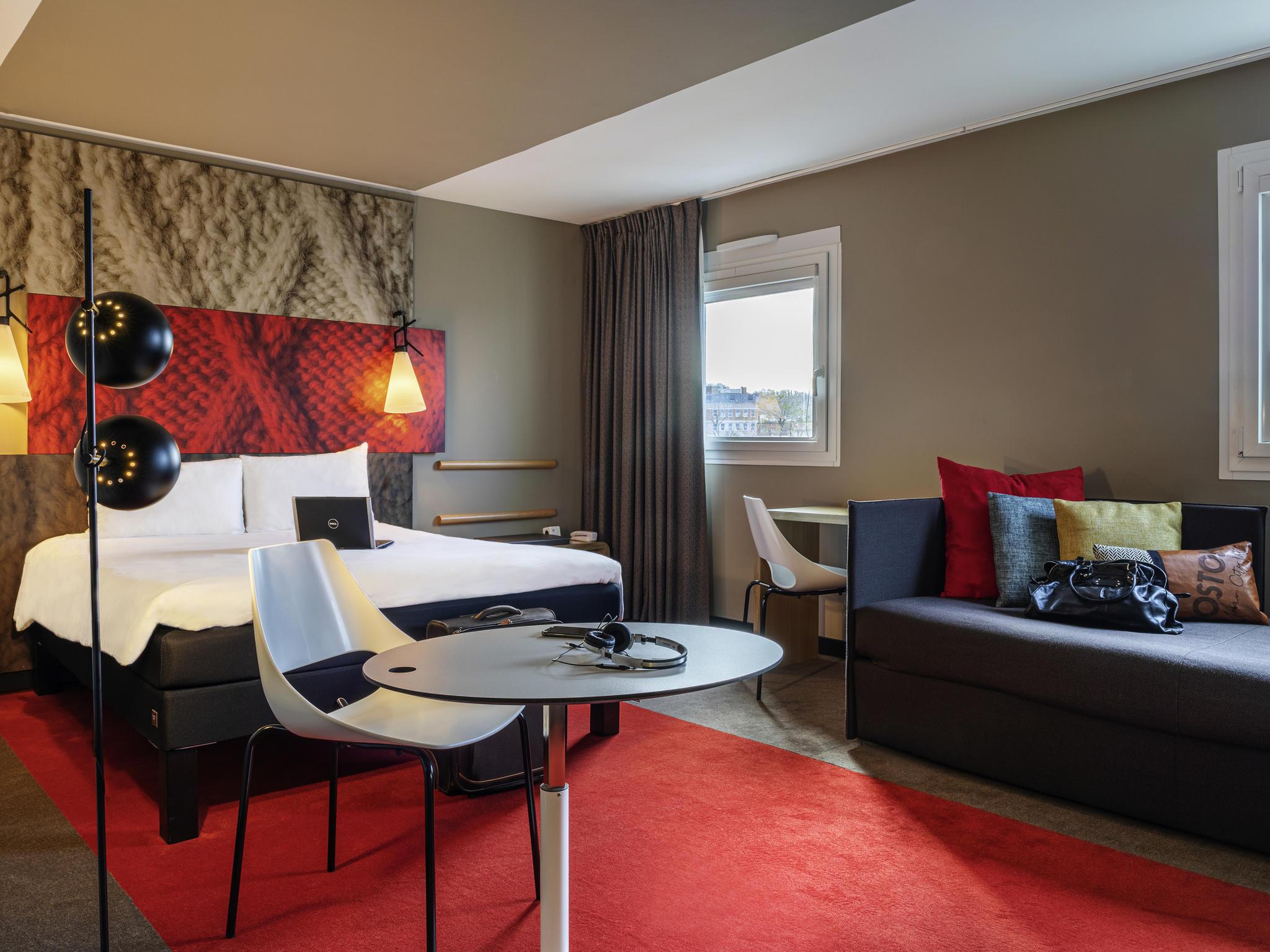 Отель — ibis Париж Нантер Ля-Дефанс