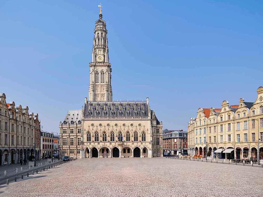 Hotel Mercure Arras Parking