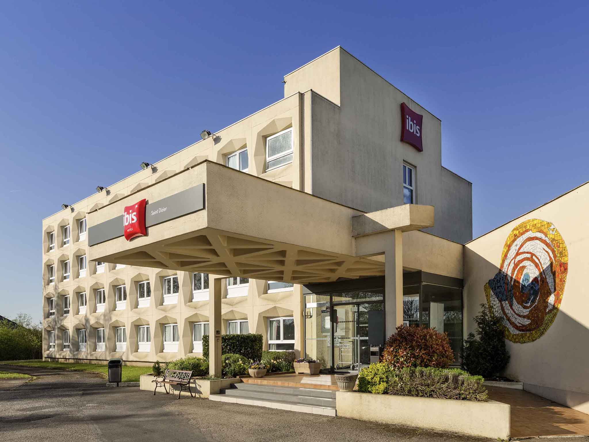 Отель — ibis Saint-Dizier