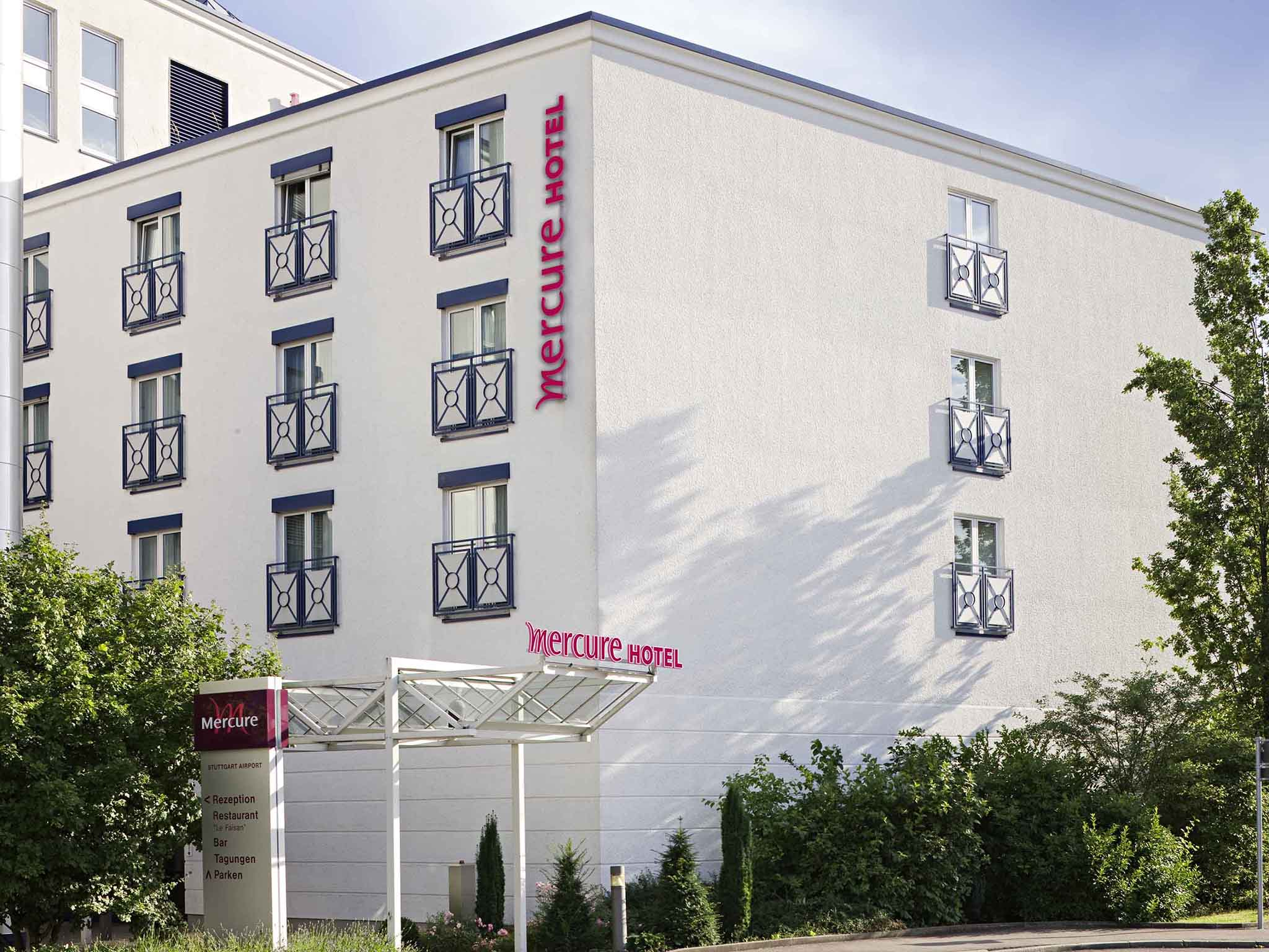 Hotell – Mercure Hotel Stuttgart Airport Messe