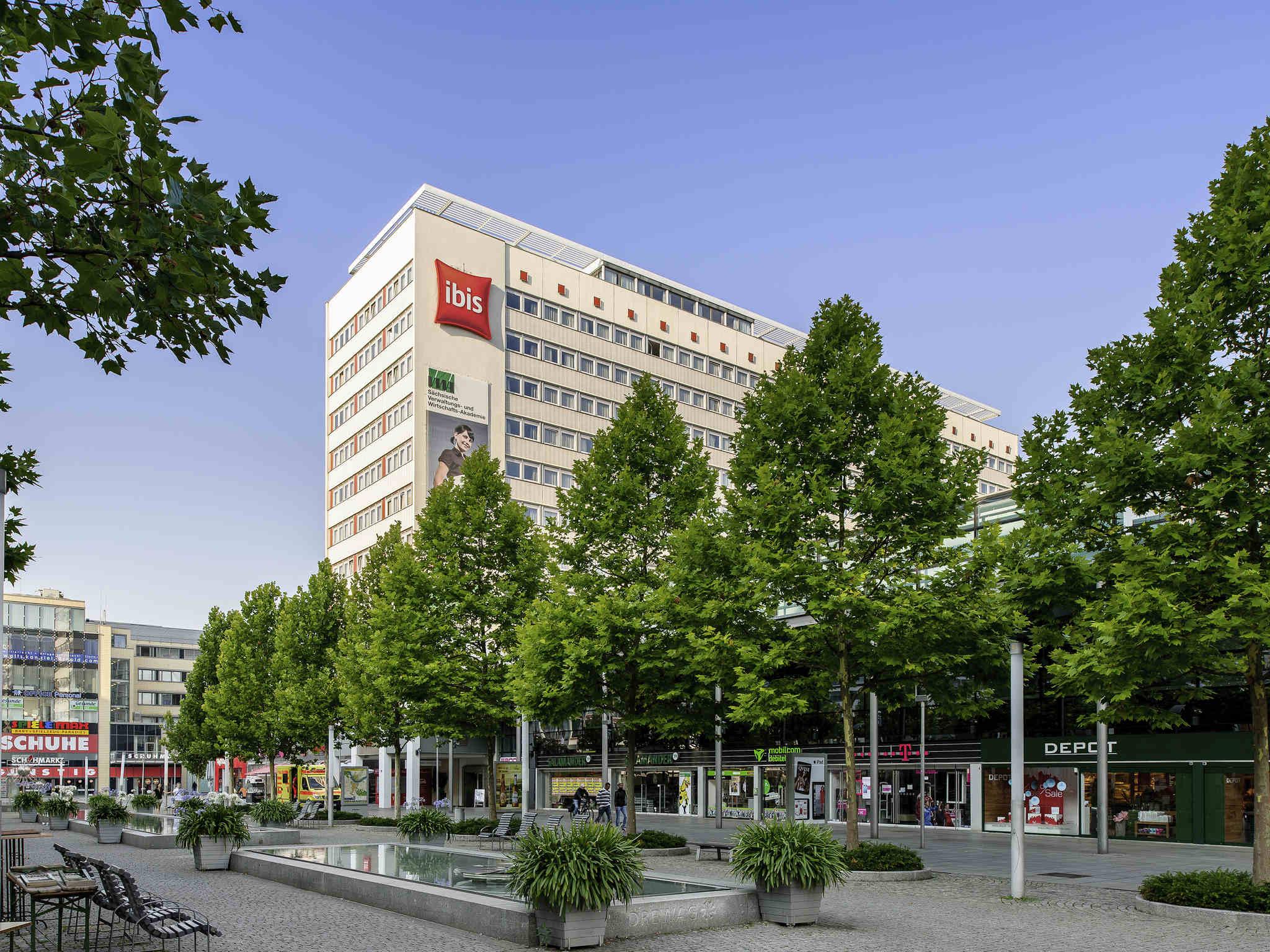 H tel dresde h tel ibis dresden bastei for Dresden hotel zentrum
