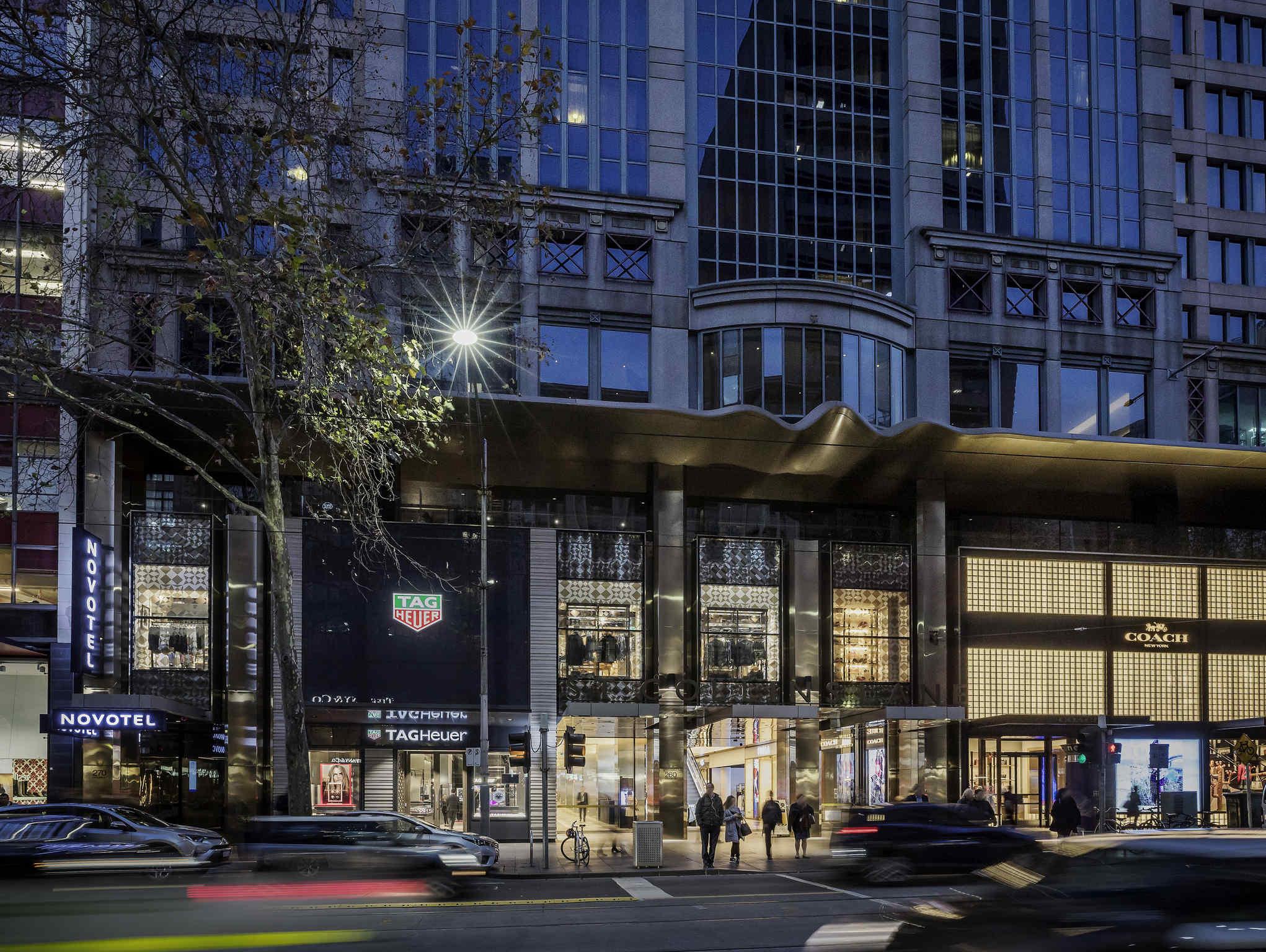 โรงแรม – โนโวเทล เมลเบิร์น ออน คอลลินส์