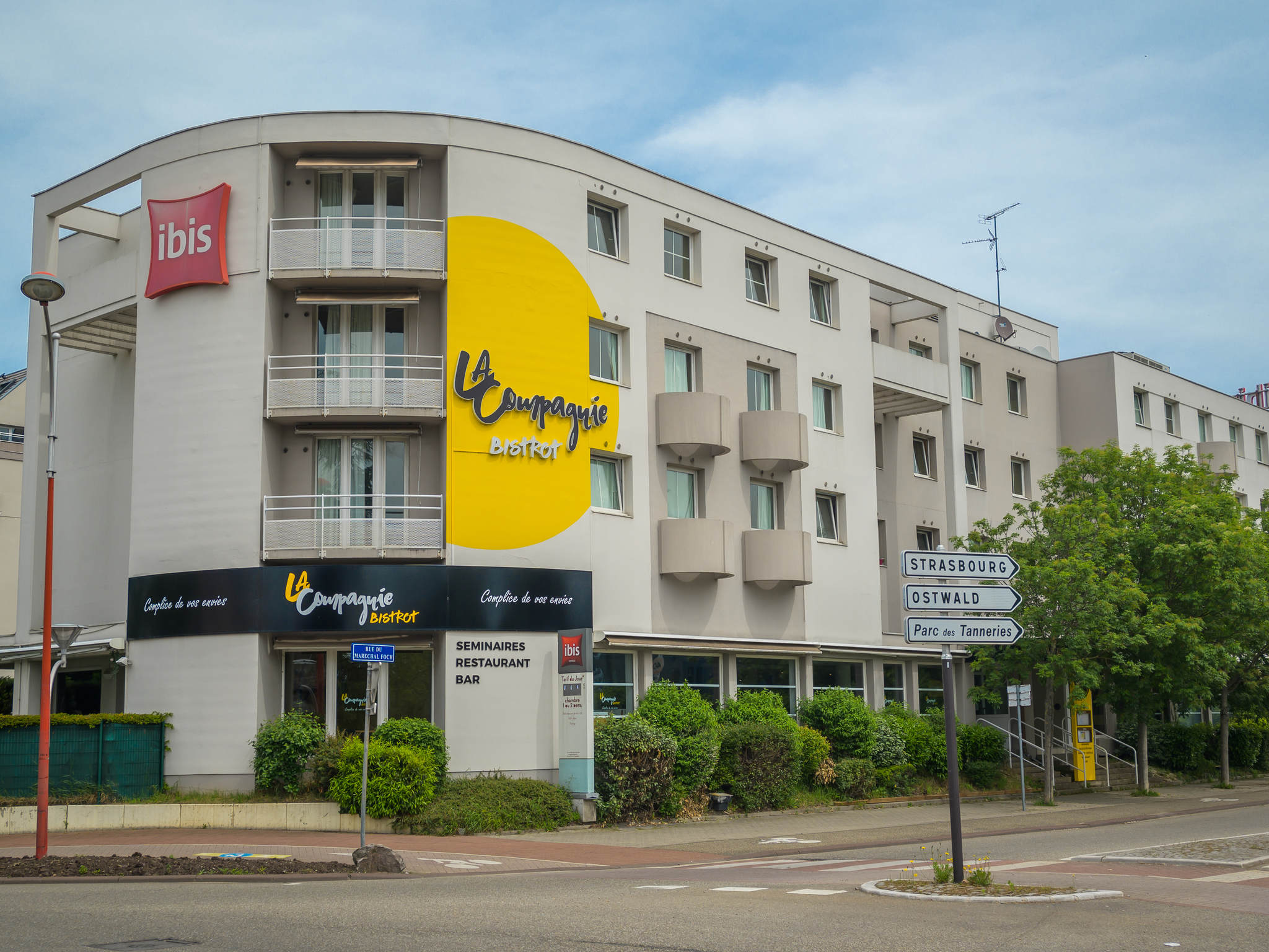 ホテル – ibis Strasbourg Aéroport Le Zénith