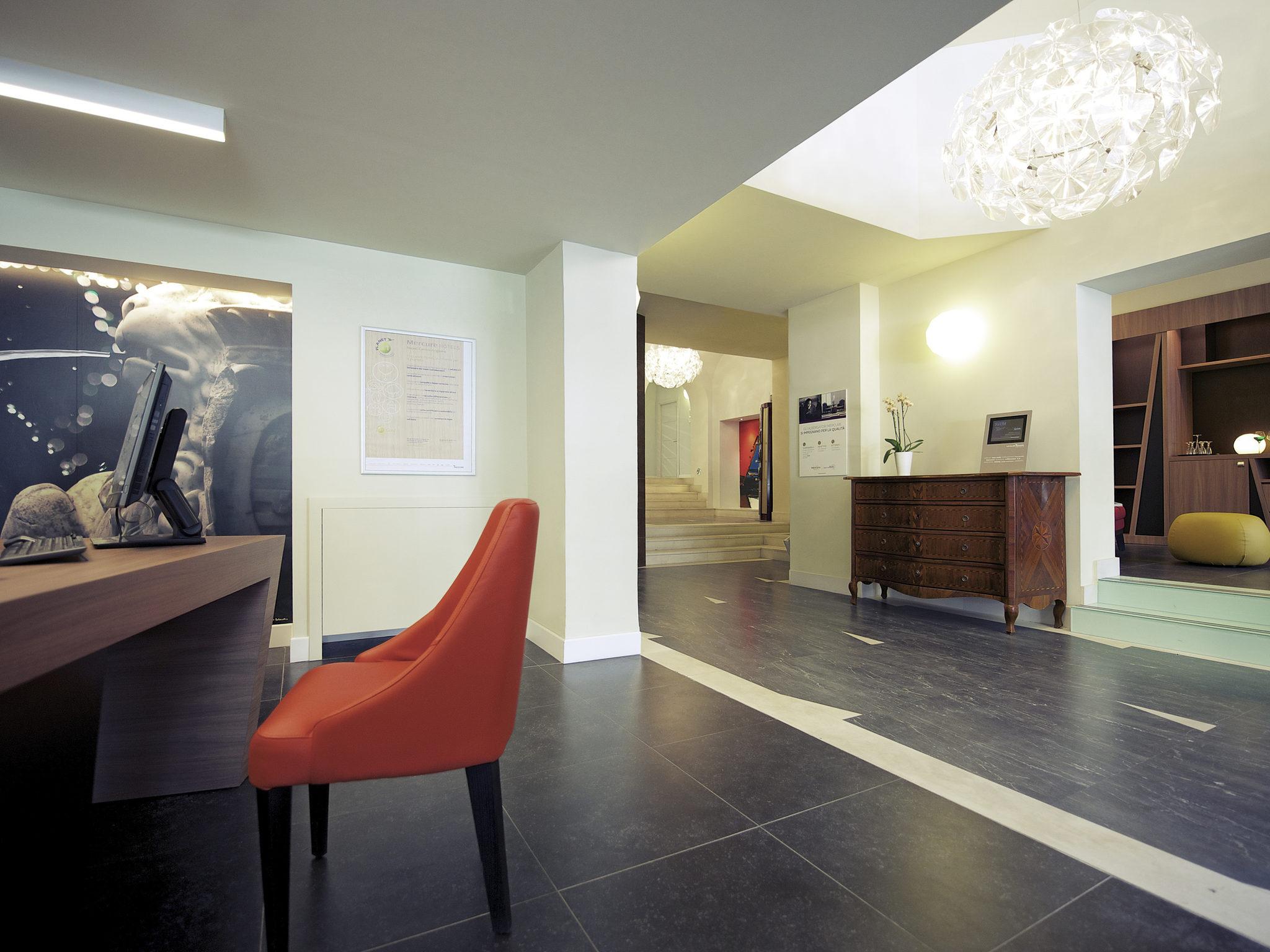 โรงแรม – Mercure Napoli Centro Angioino