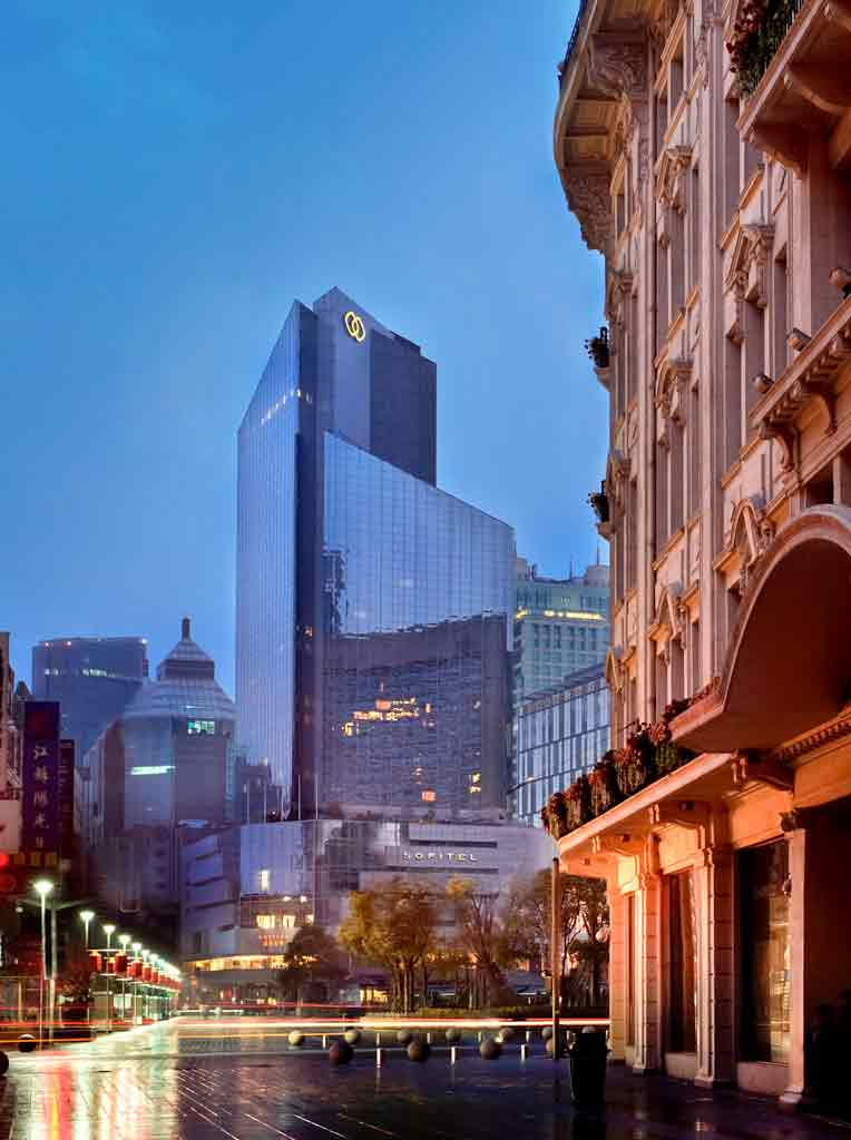 酒店 – 上海索菲特海仑宾馆