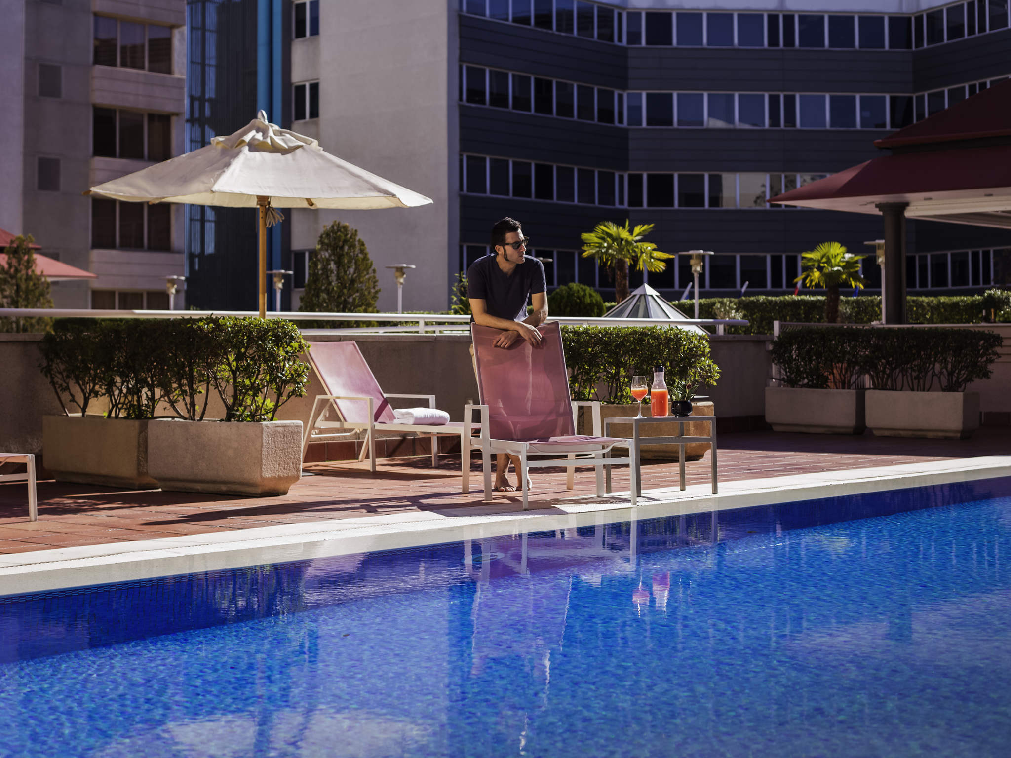 Отель — Pullman Мадрид Аэропорт и Фериа